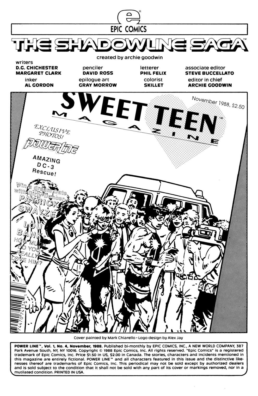 Read online Powerline comic -  Issue #4 - 2
