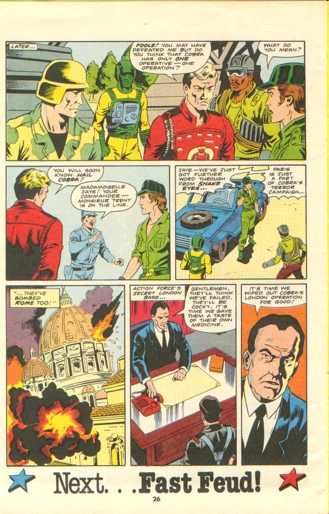 G.I. Joe European Missions issue 13 - Page 23