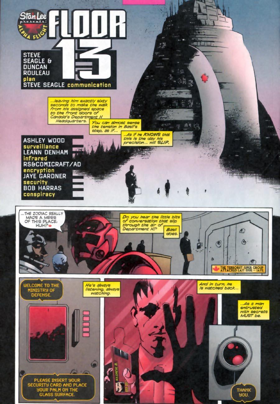 Read online Alpha Flight (1997) comic -  Issue #13 - 5