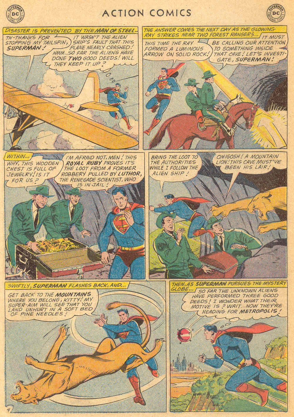 Read online Action Comics (1938) comic -  Issue #271 - 6