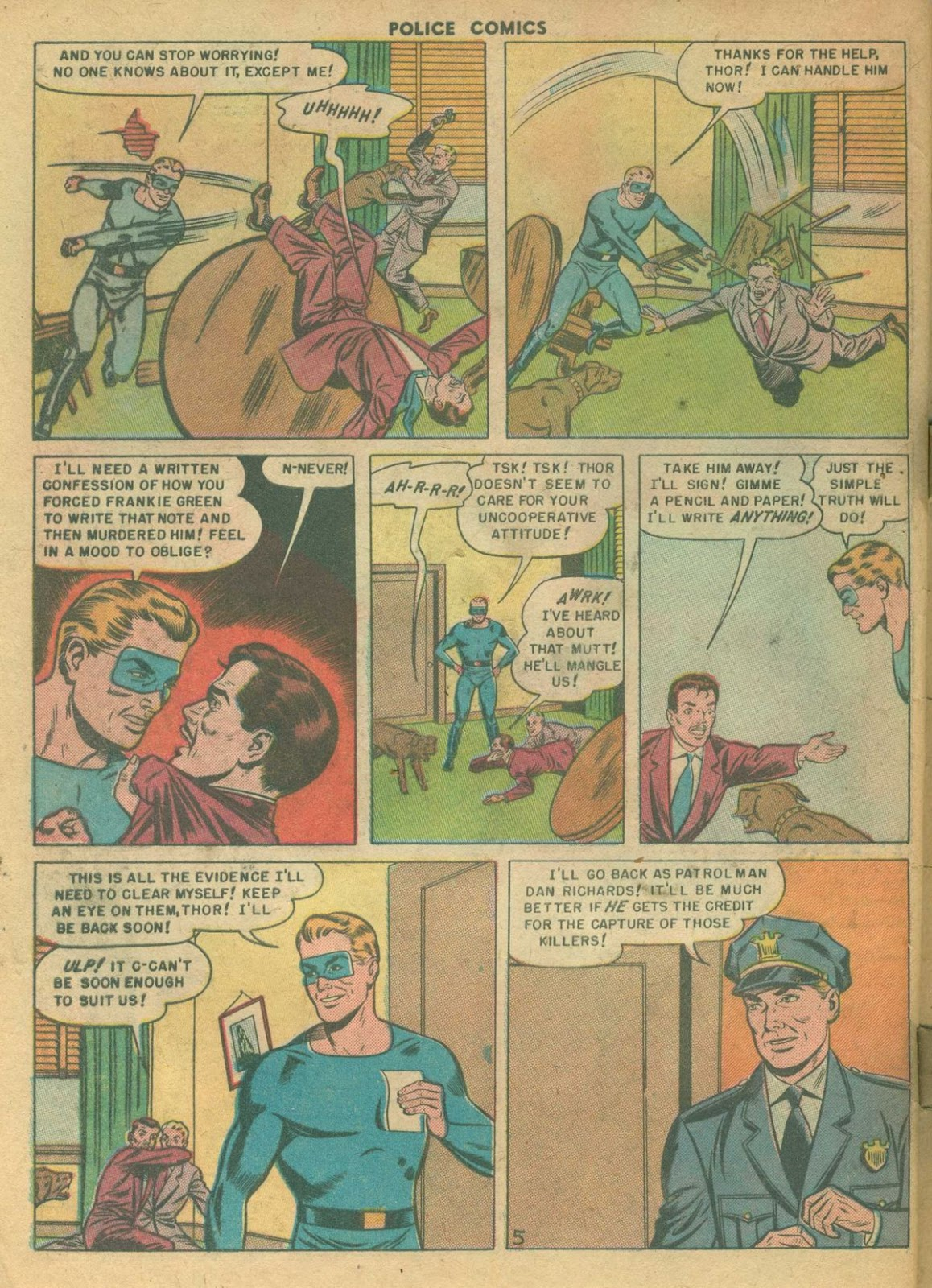 Police Comics issue 99 - Page 32
