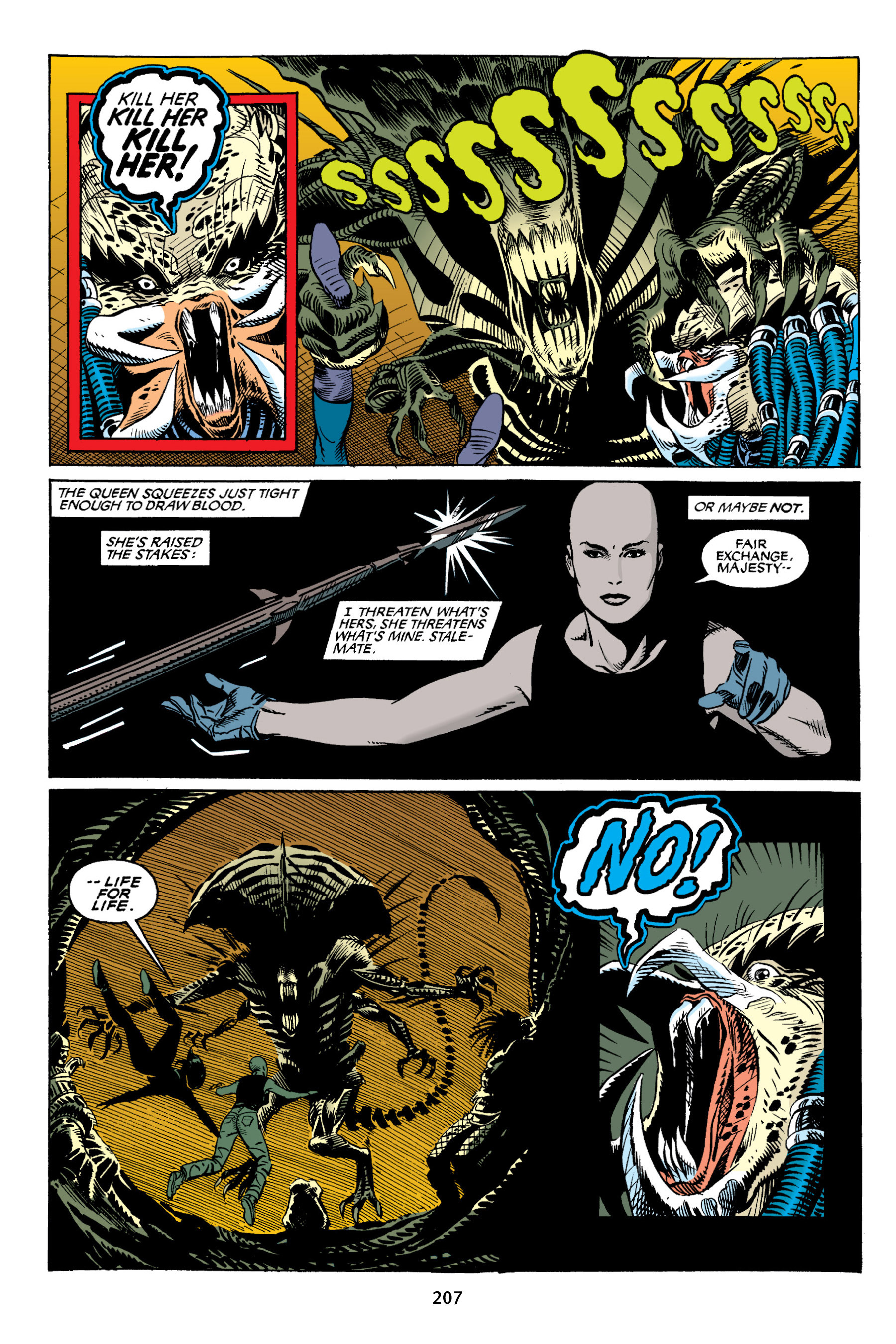 Read online Aliens vs. Predator Omnibus comic -  Issue # _TPB 2 Part 2 - 94