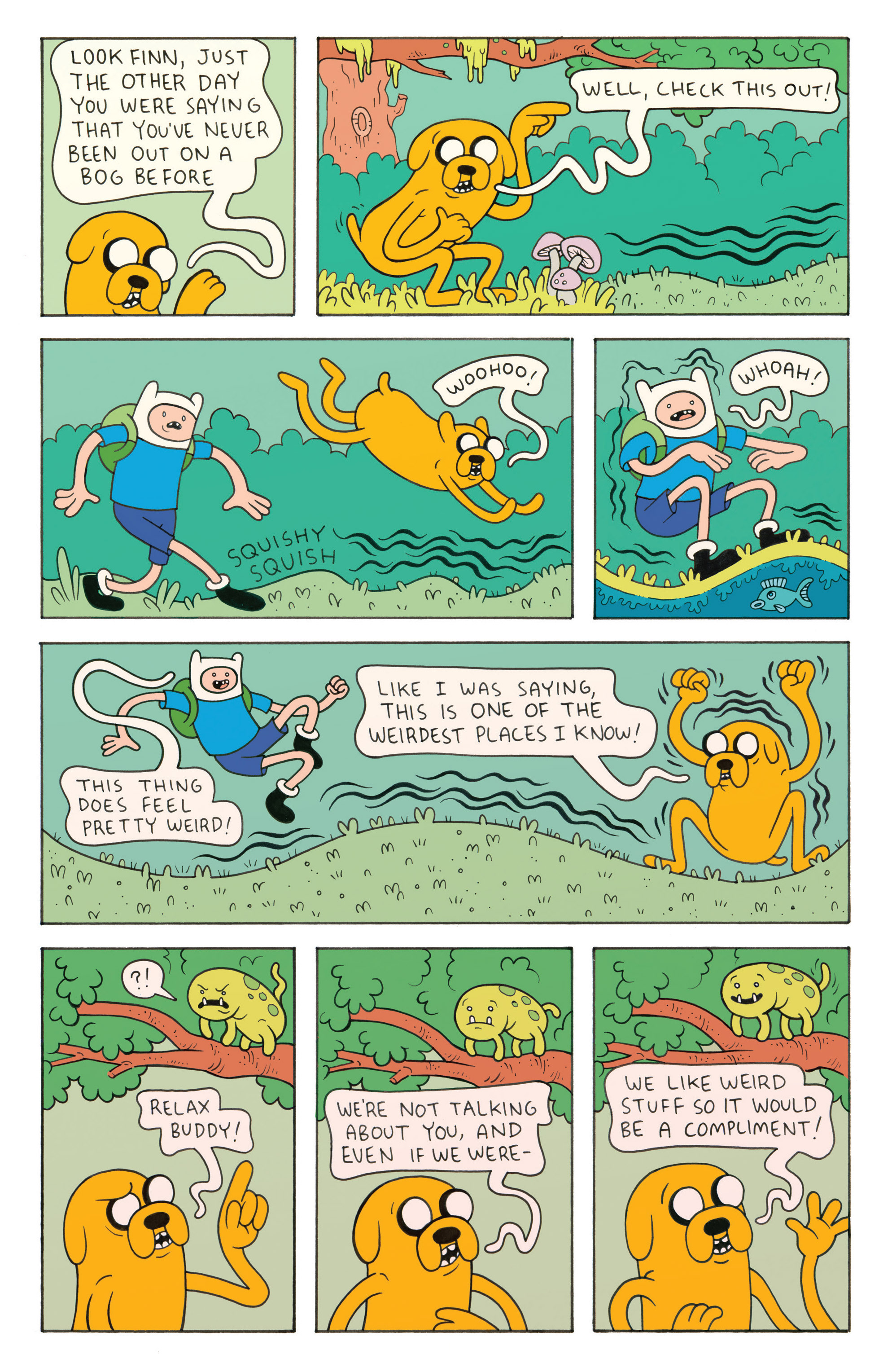 Read online Adventure Time comic -  Issue #26 - 23