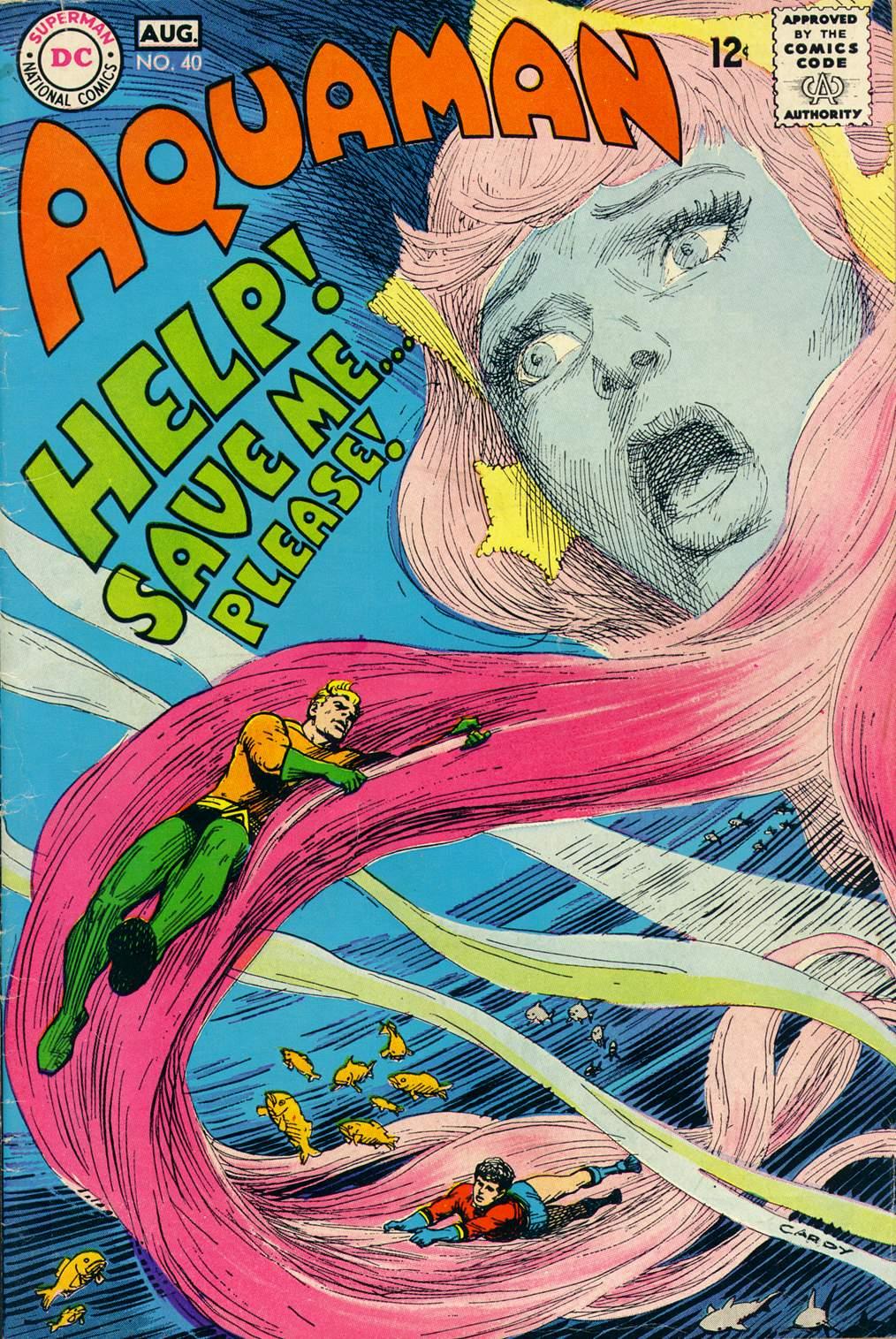 Aquaman (1962) issue 40 - Page 1