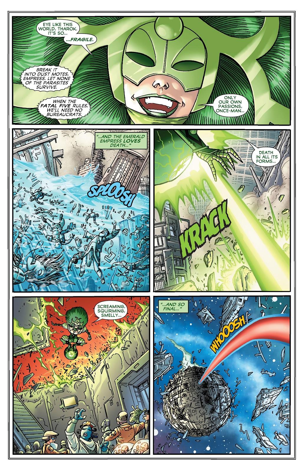 Legion of Super-Heroes (2011) Issue #19 #20 - English 5