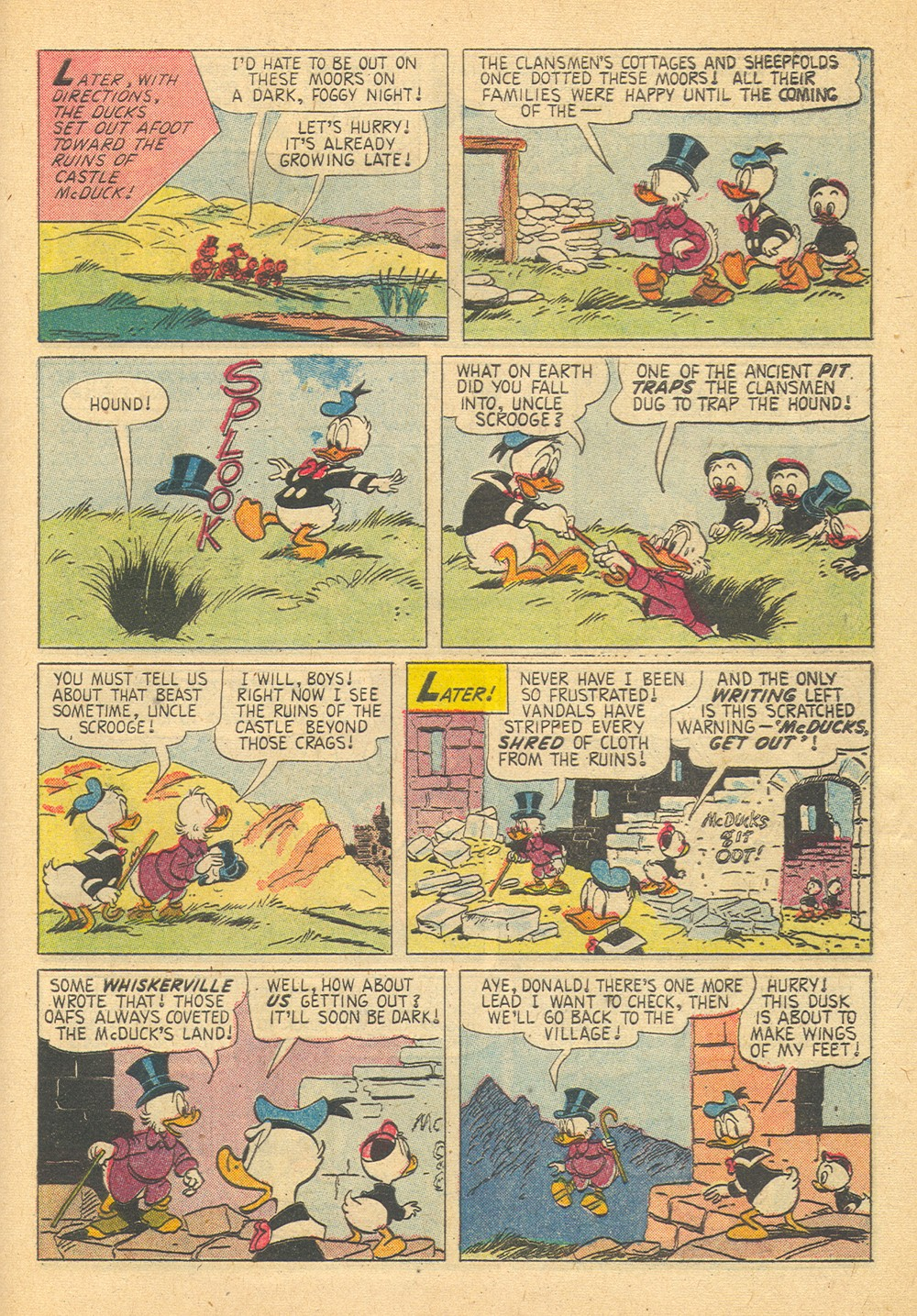 Read online Uncle Scrooge (1953) comic -  Issue #29 - 29