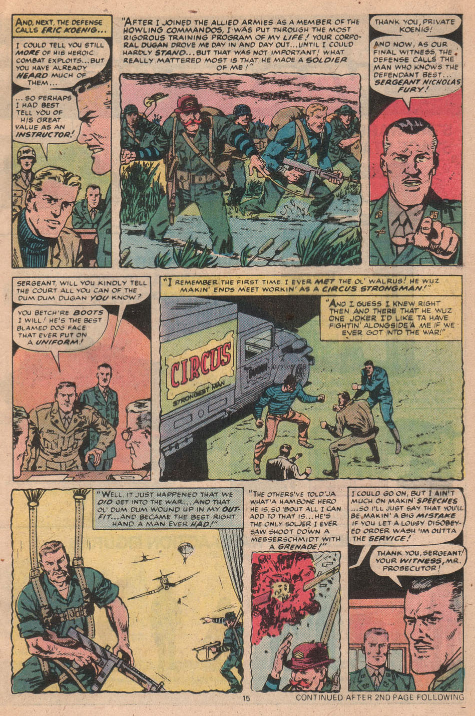 Read online Sgt. Fury comic -  Issue #156 - 17