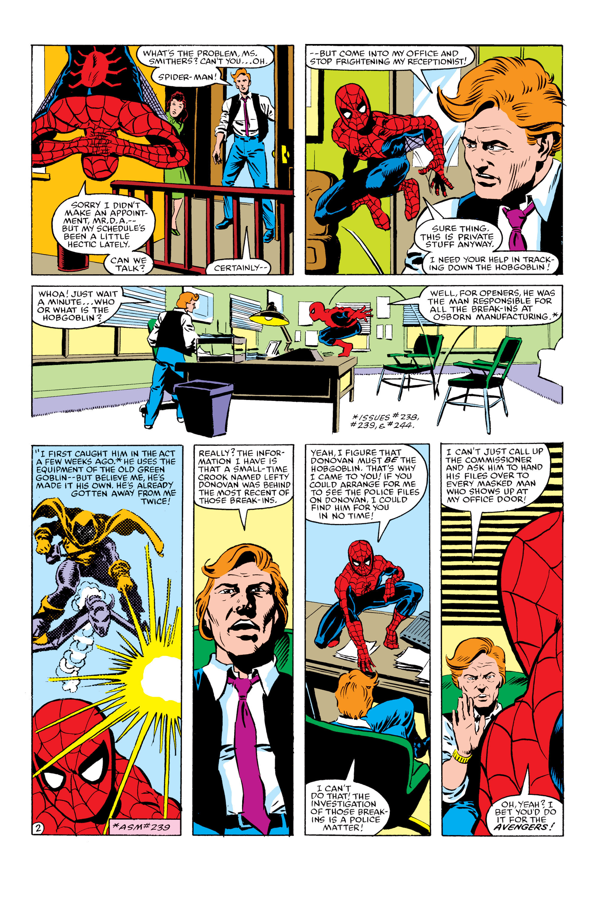 The Amazing Spider-Man (1963) 245 Page 2