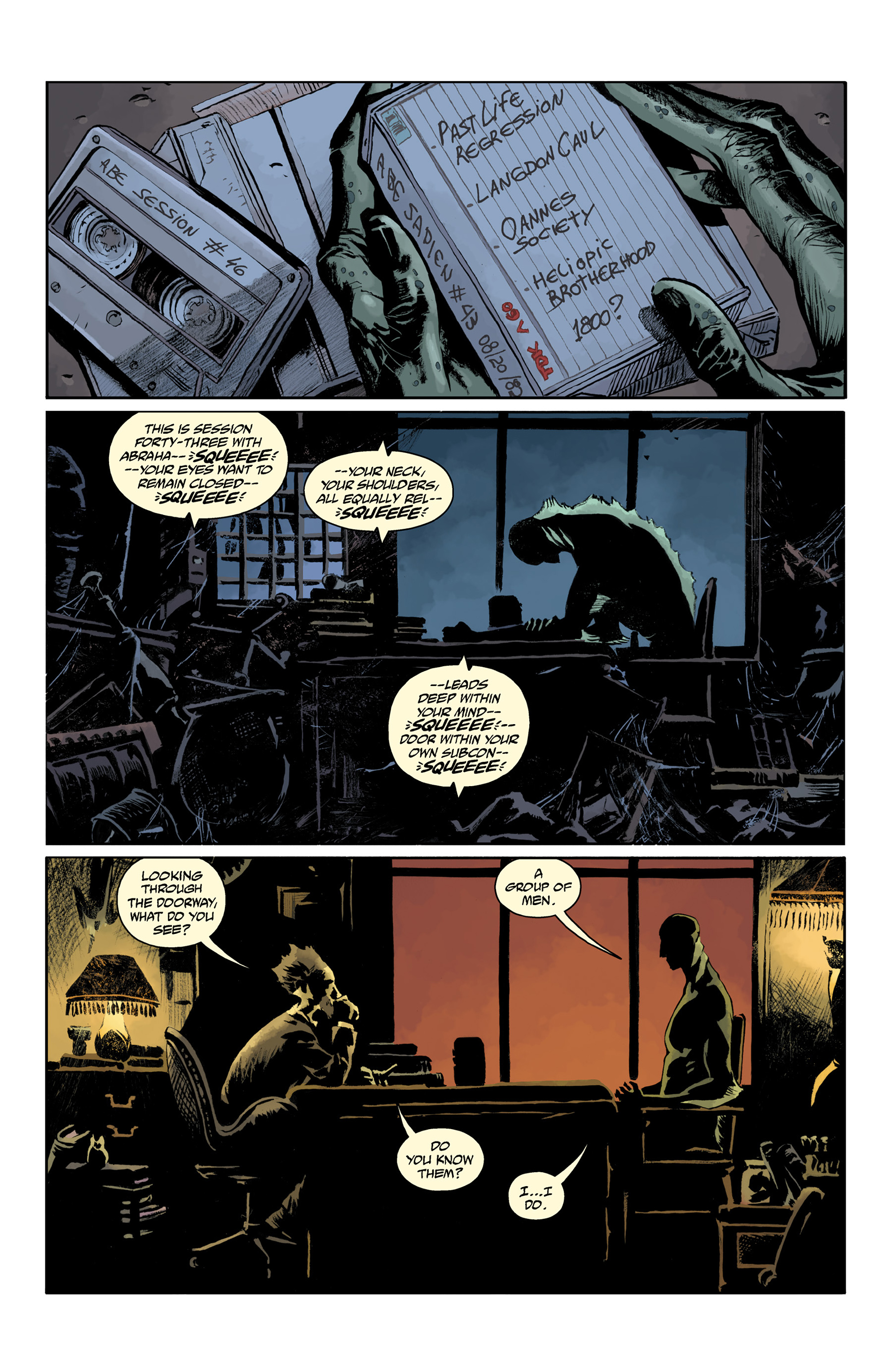 Read online Abe Sapien comic -  Issue #32 - 14