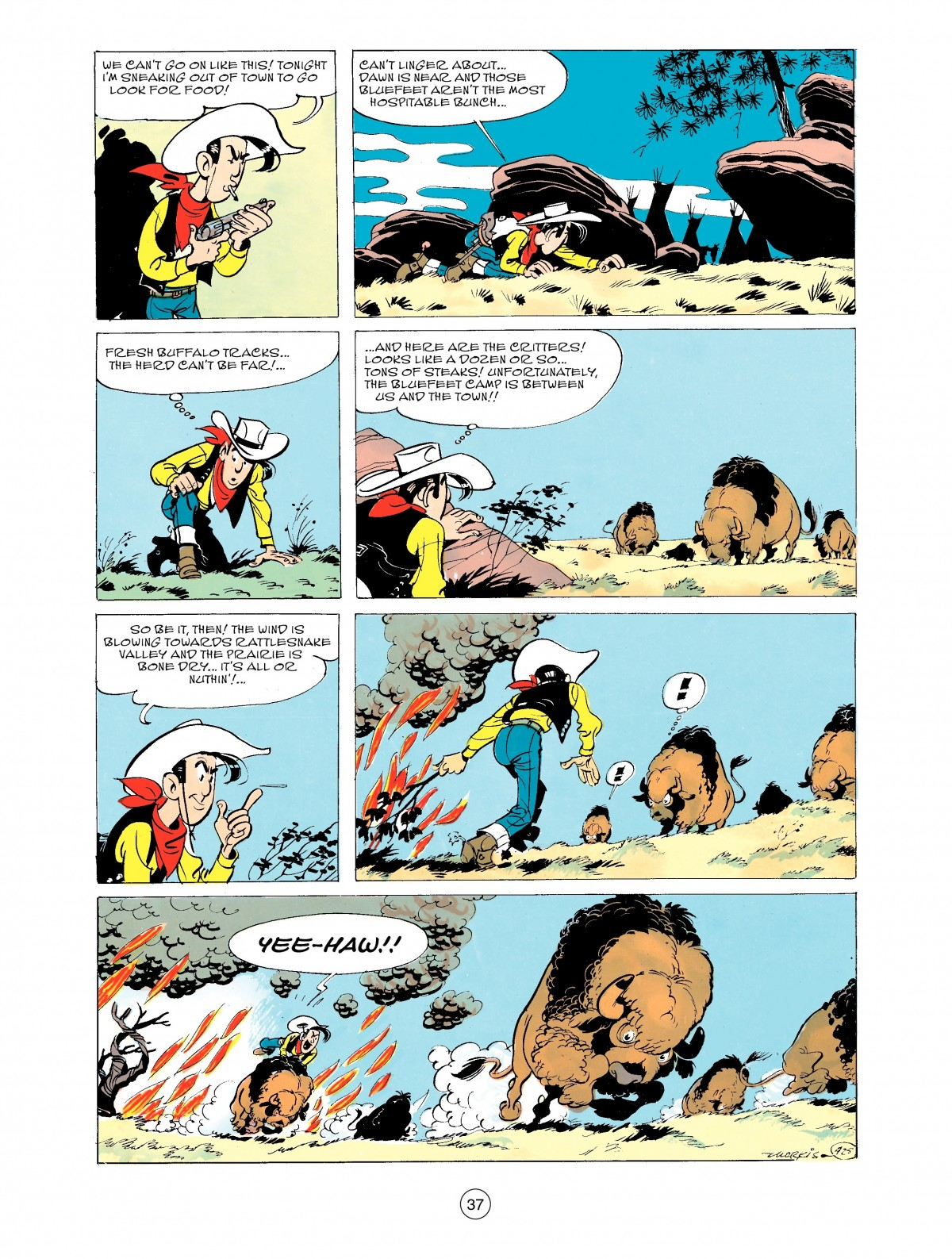 Read online A Lucky Luke Adventure comic -  Issue #43 - 37