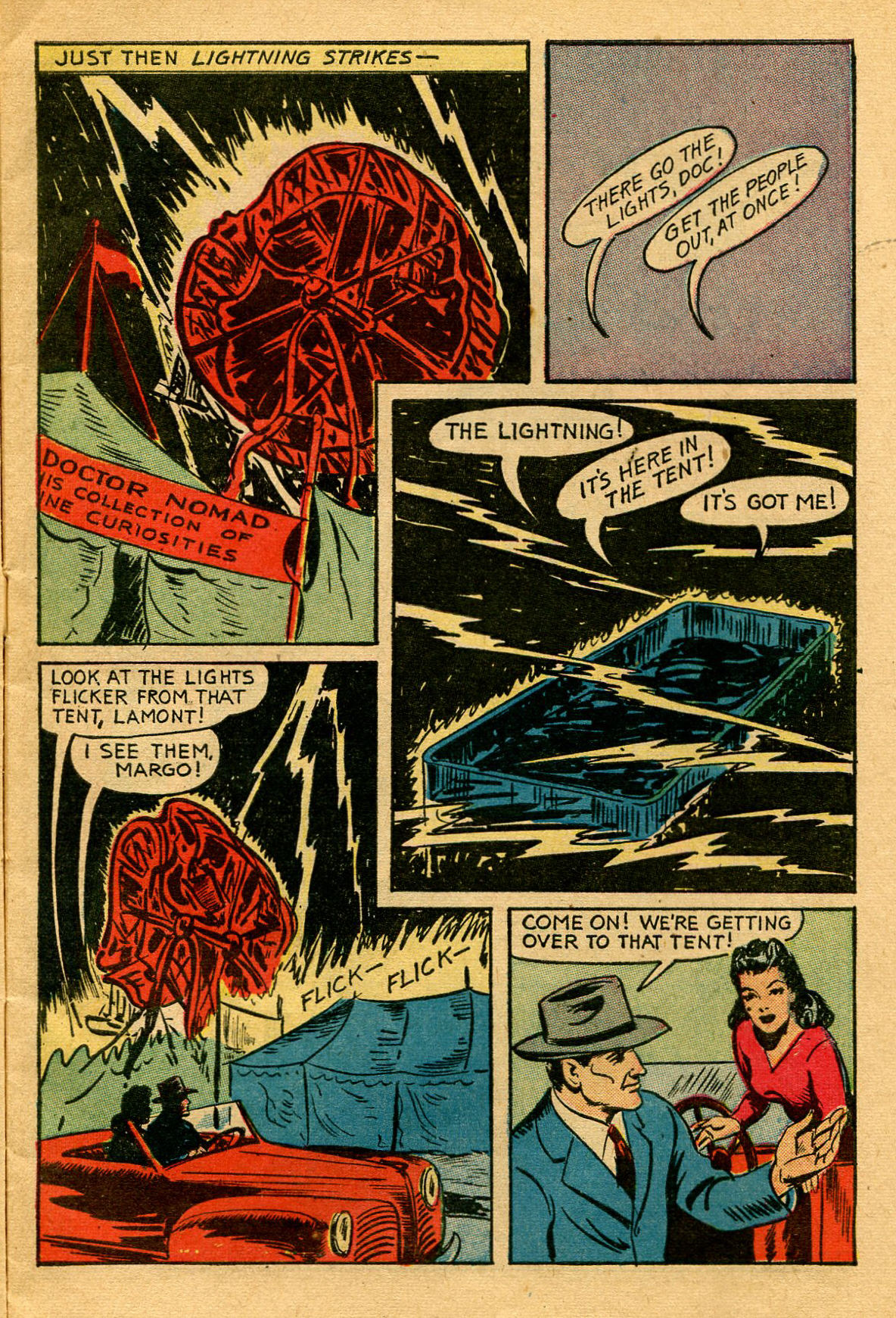 Read online Shadow Comics comic -  Issue #53 - 6