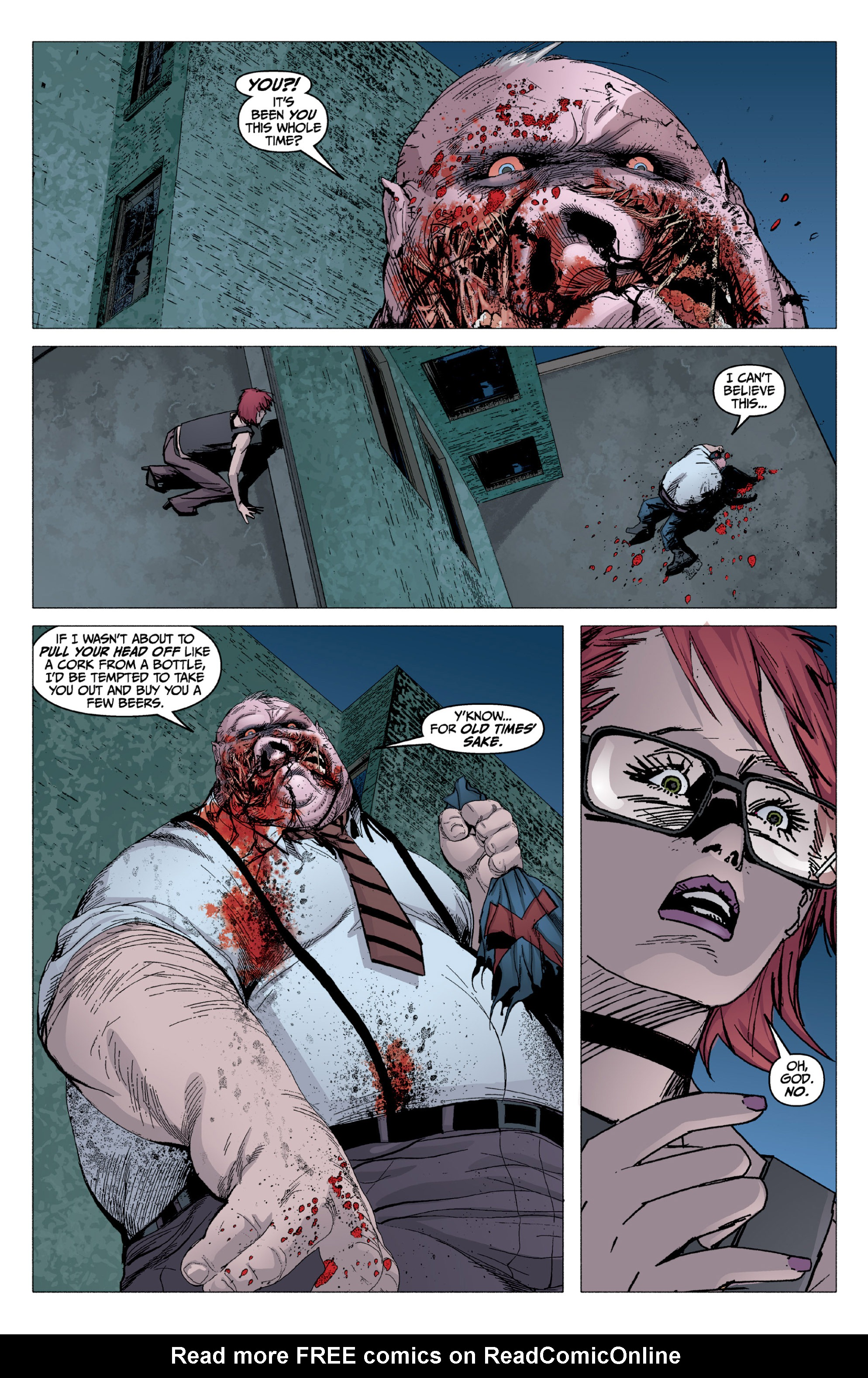 Read online X: Big Bad comic -  Issue # Full - 115
