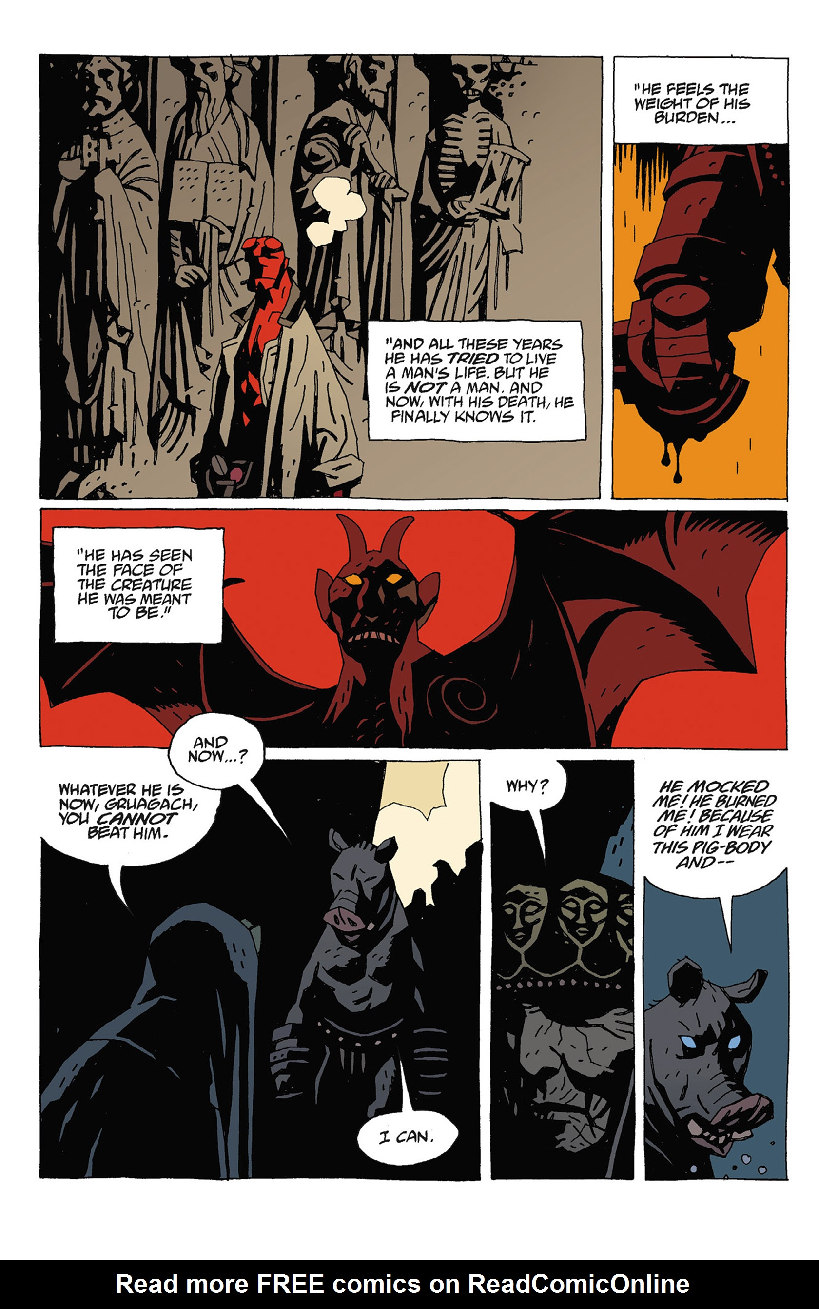 Read online Hellboy: Strange Places comic -  Issue # TPB - 130