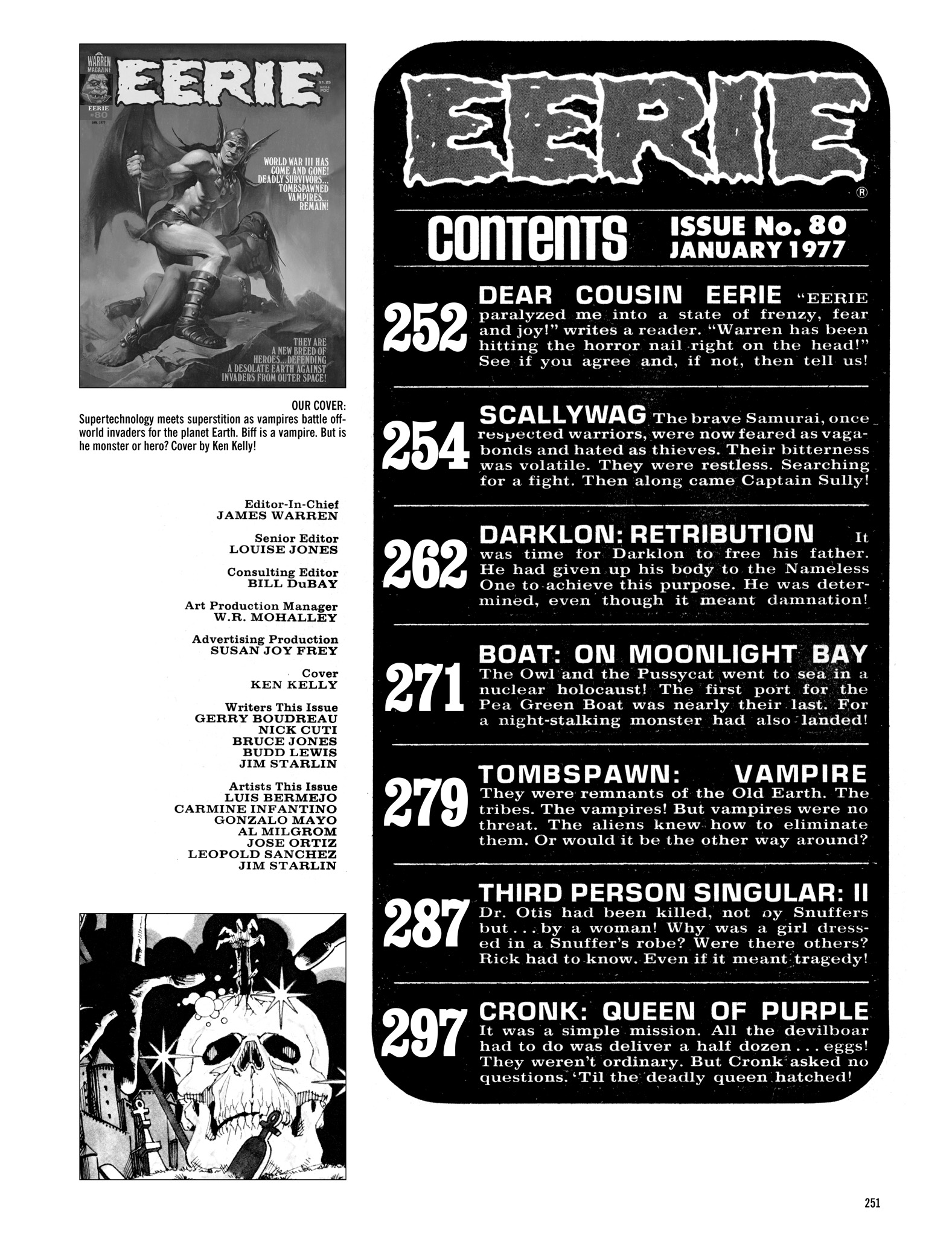 Read online Eerie Archives comic -  Issue # TPB 16 - 252