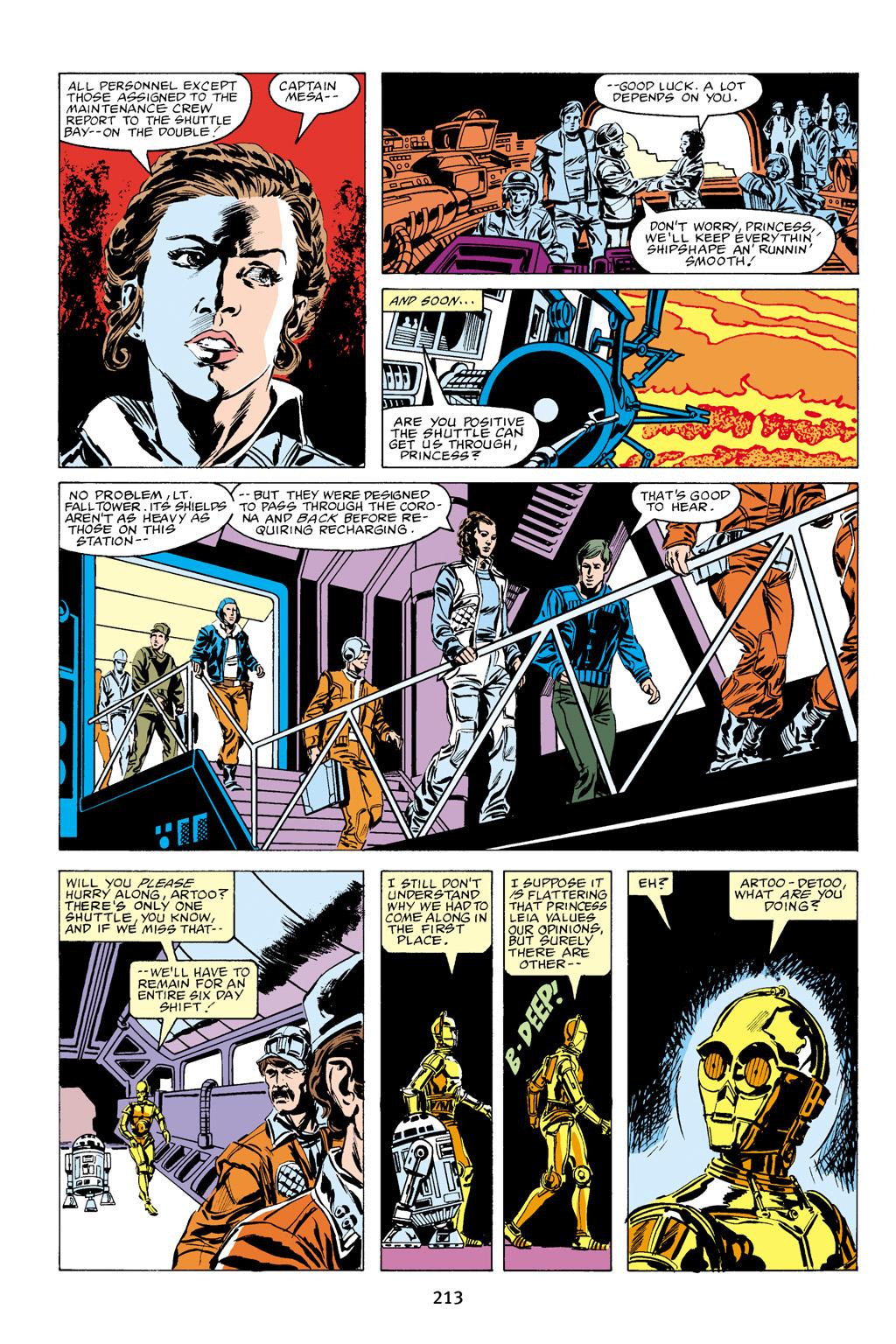 Read online Star Wars Omnibus comic -  Issue # Vol. 16 - 210