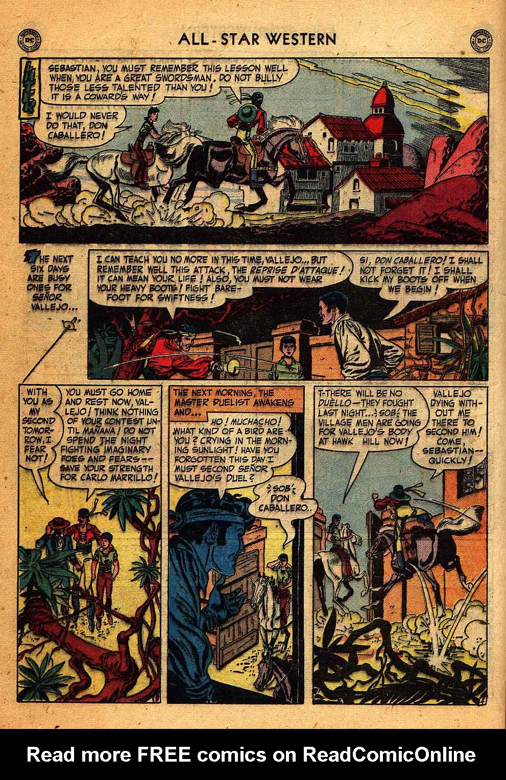 Read online All-Star Western (1951) comic -  Issue #58 - 18