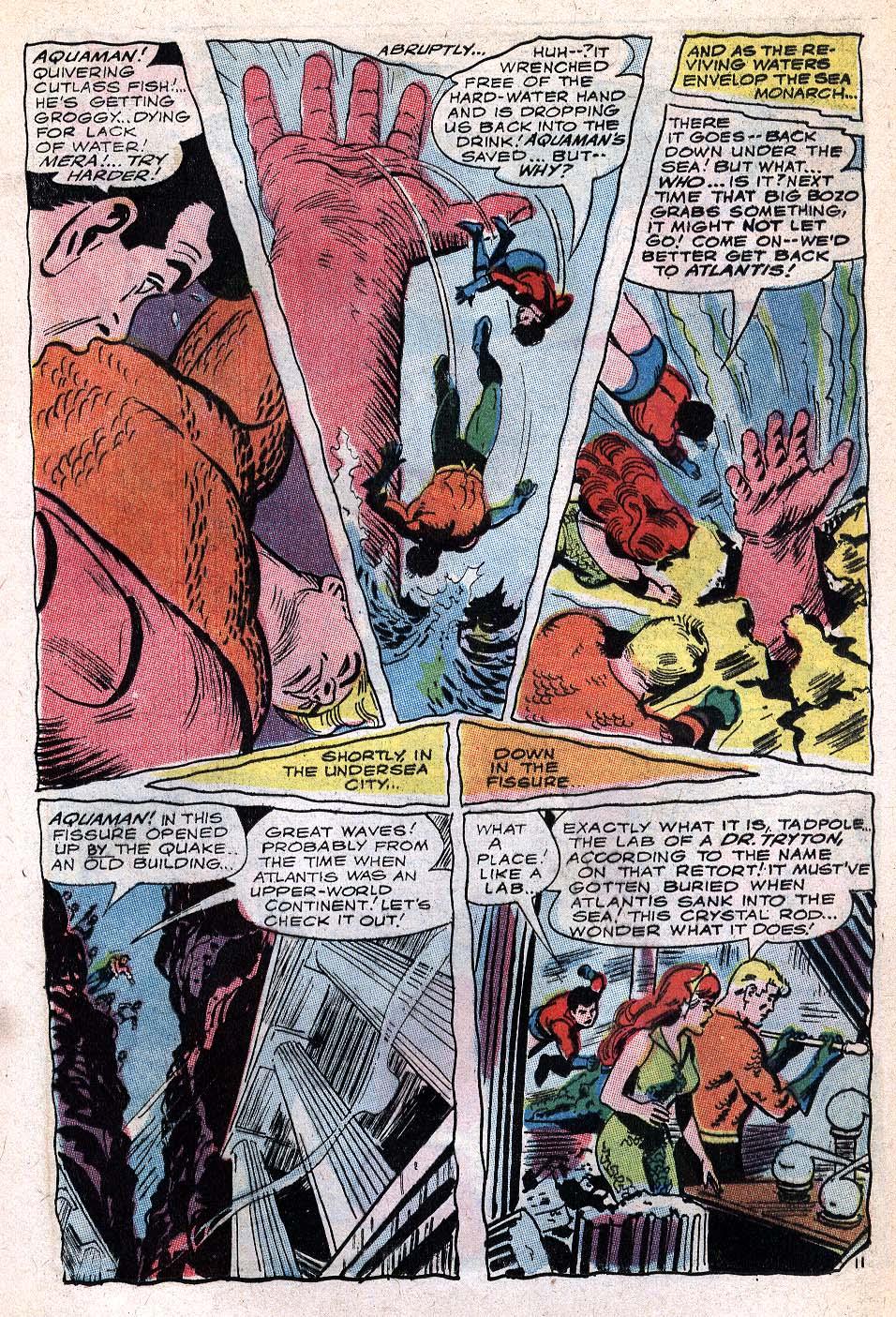 Read online Aquaman (1962) comic -  Issue #32 - 17