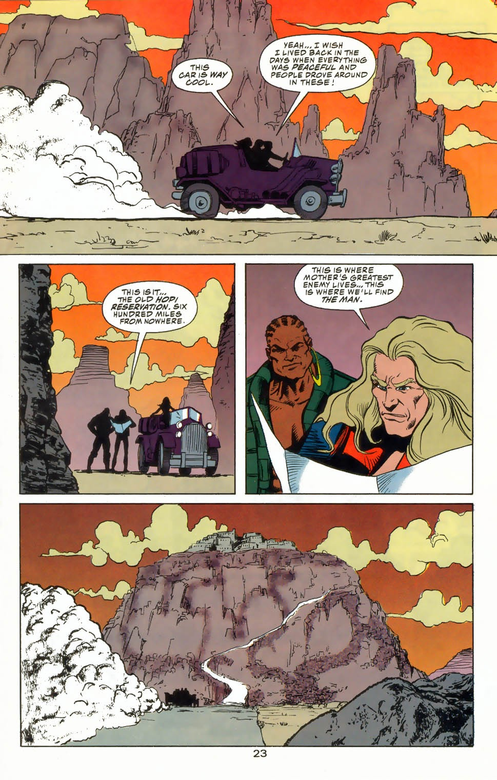 Read online Kamandi: At Earth's End comic -  Issue #4 - 27