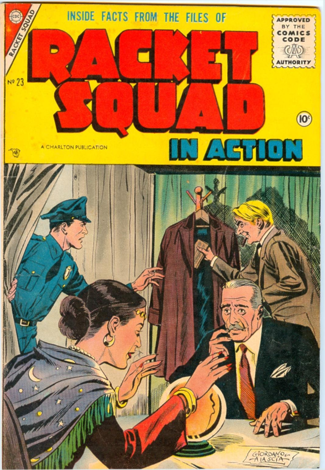 Read online Racket Squad in Action comic -  Issue #23 - 1