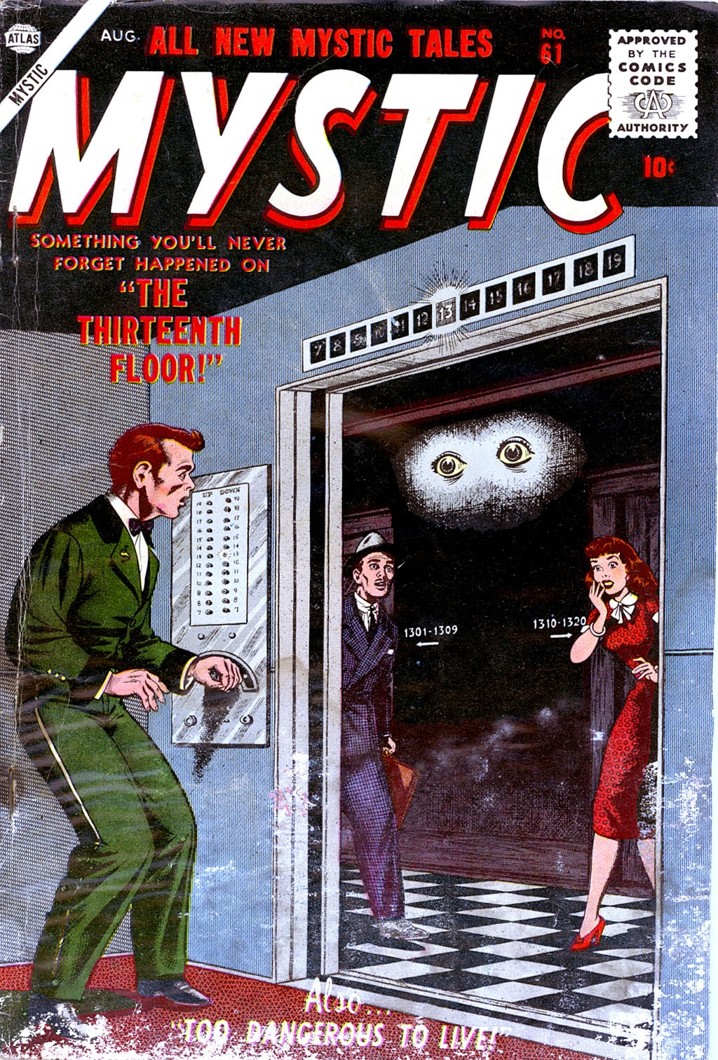Mystic (1951) issue 61 - Page 1