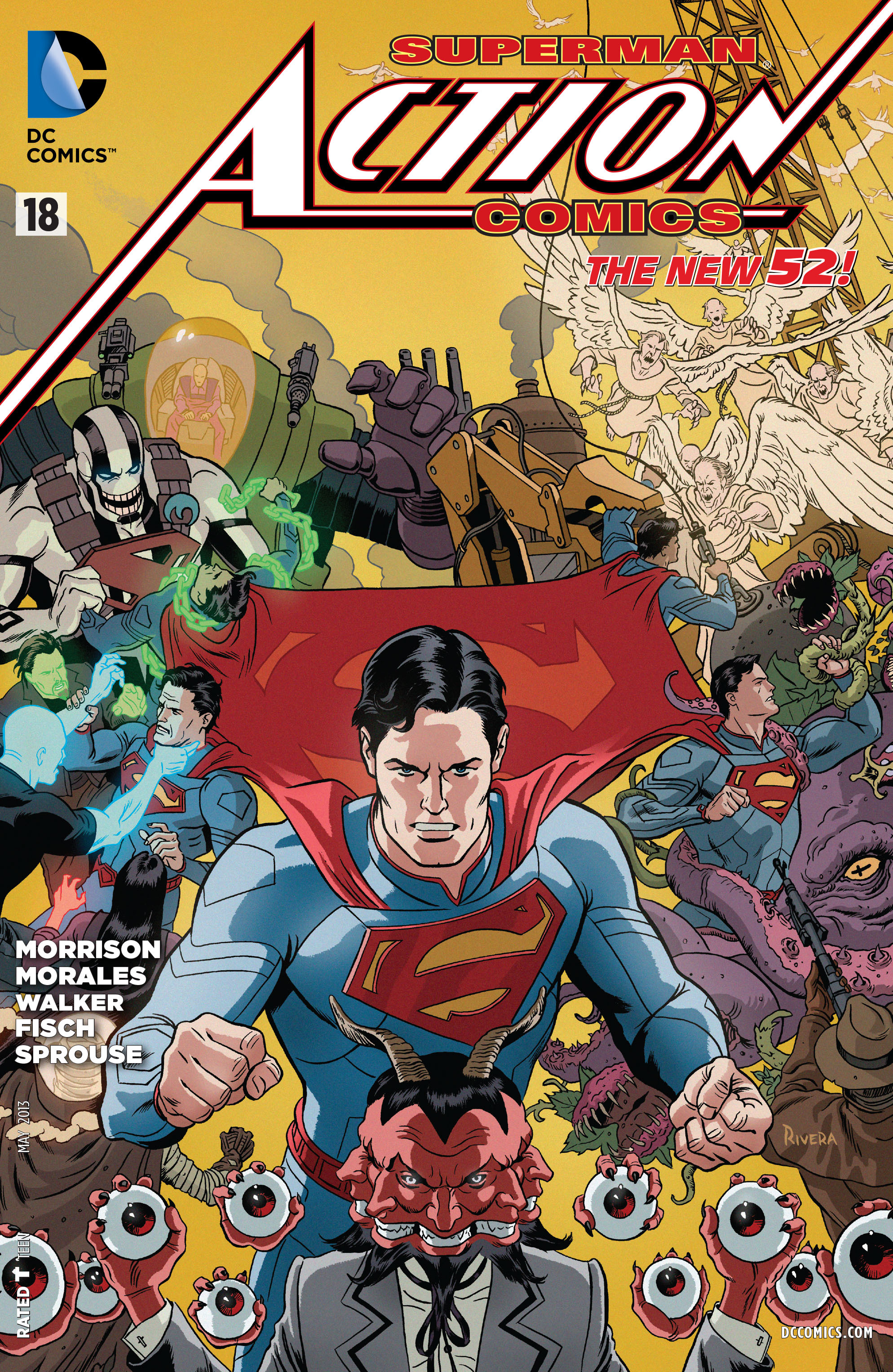 Read online Action Comics (2011) comic -  Issue #18 - 2