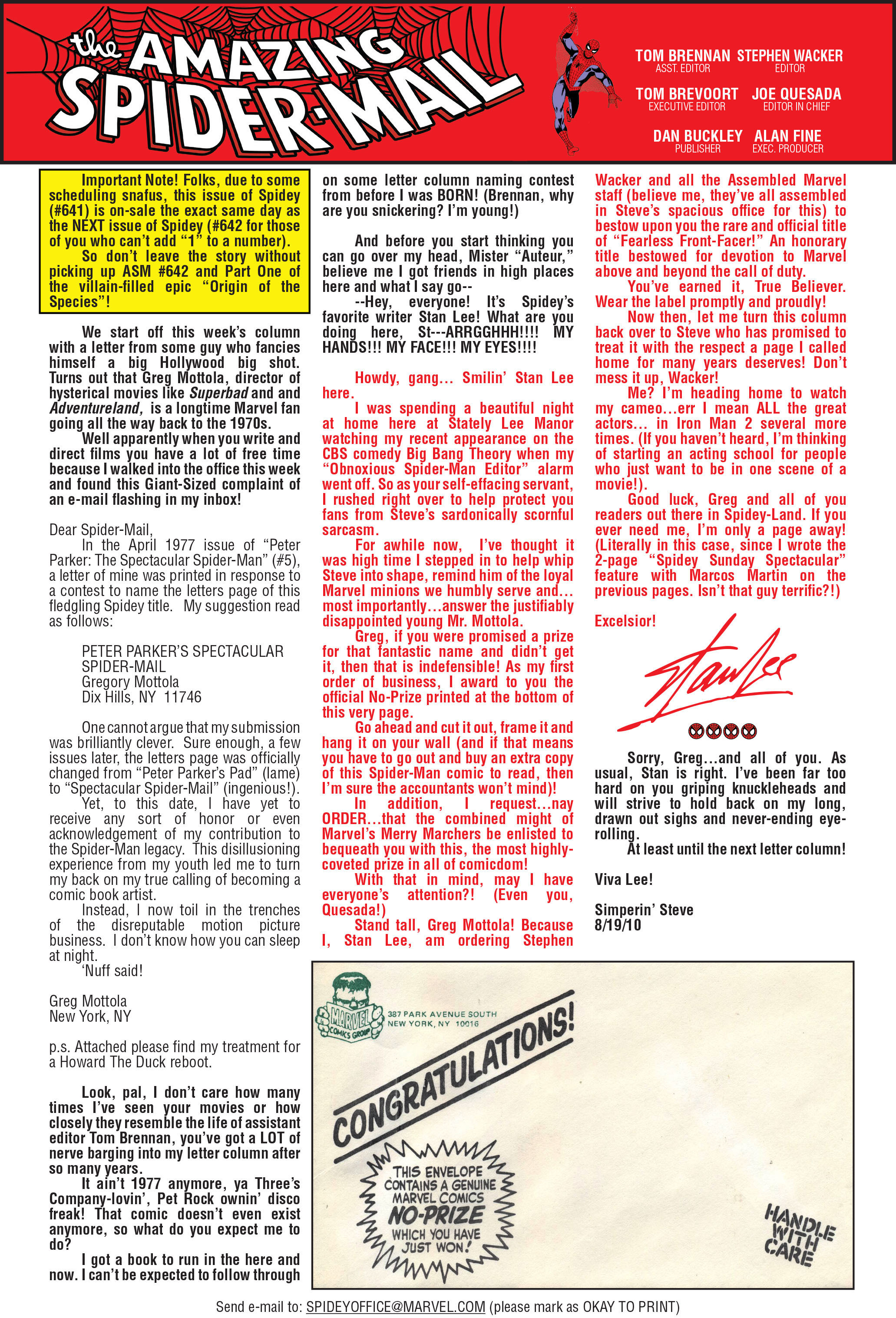 The Amazing Spider-Man (1963) 641 Page 42