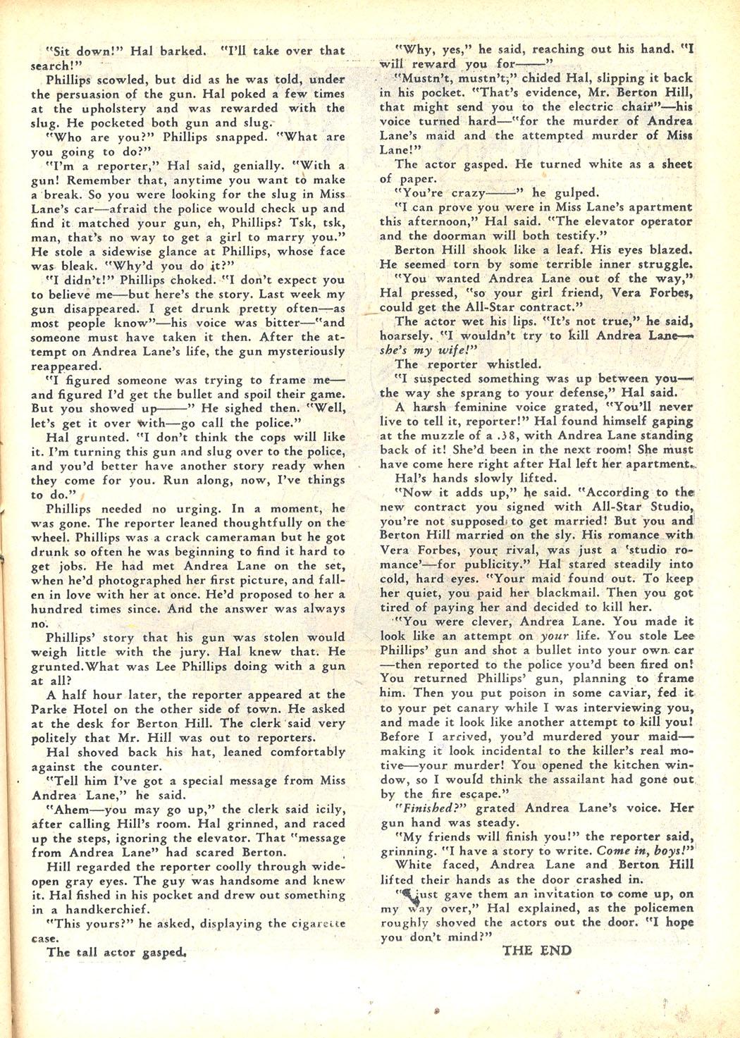 Read online Sensation (Mystery) Comics comic -  Issue #23 - 41