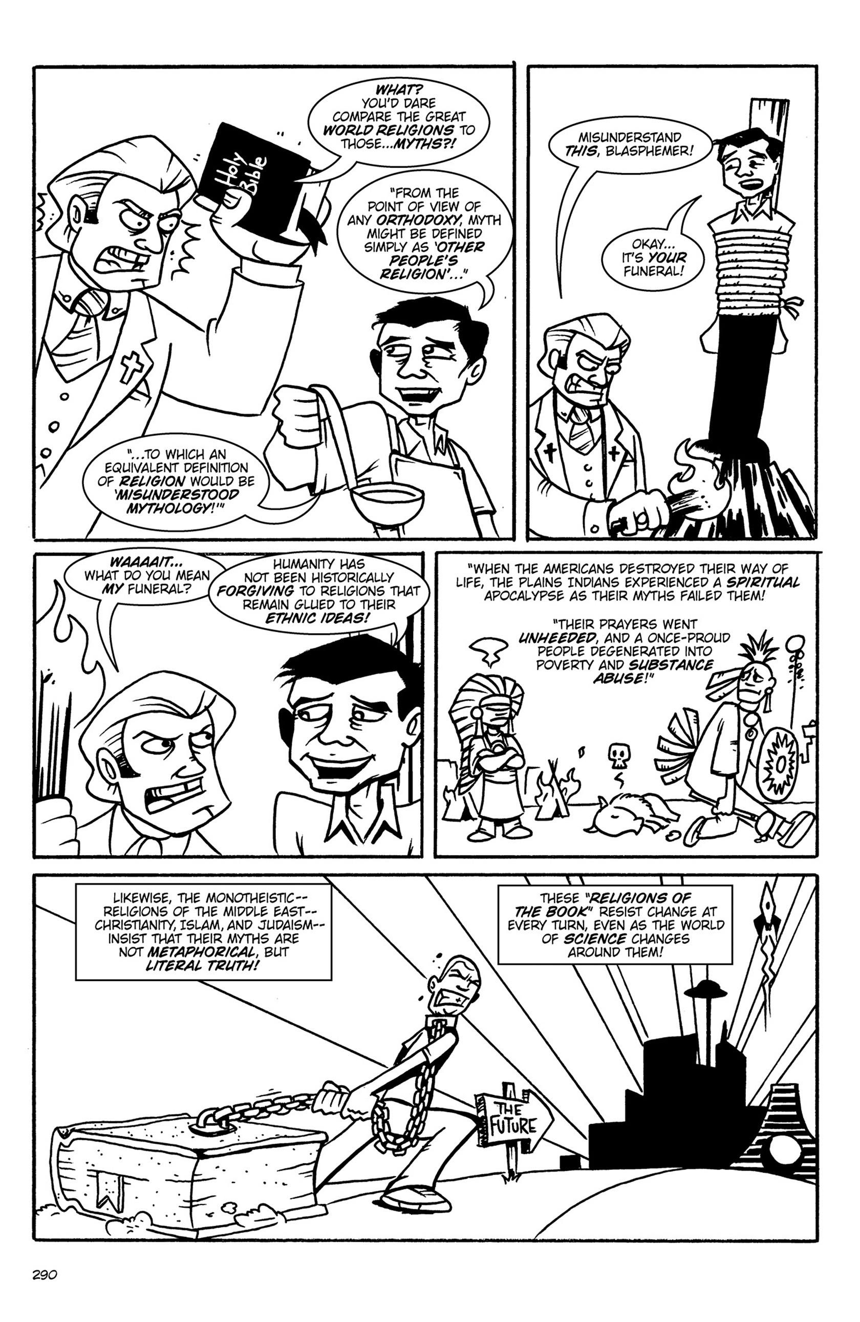 Read online Action Philosophers! comic -  Issue #Action Philosophers! TPB (Part 2) - 118