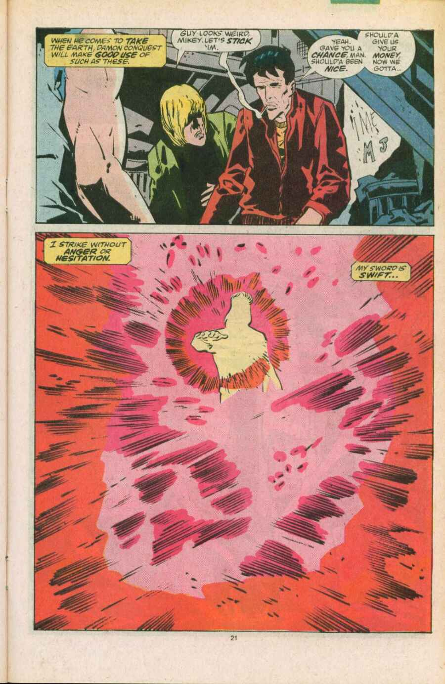 Read online Justice (1986) comic -  Issue #11 - 22