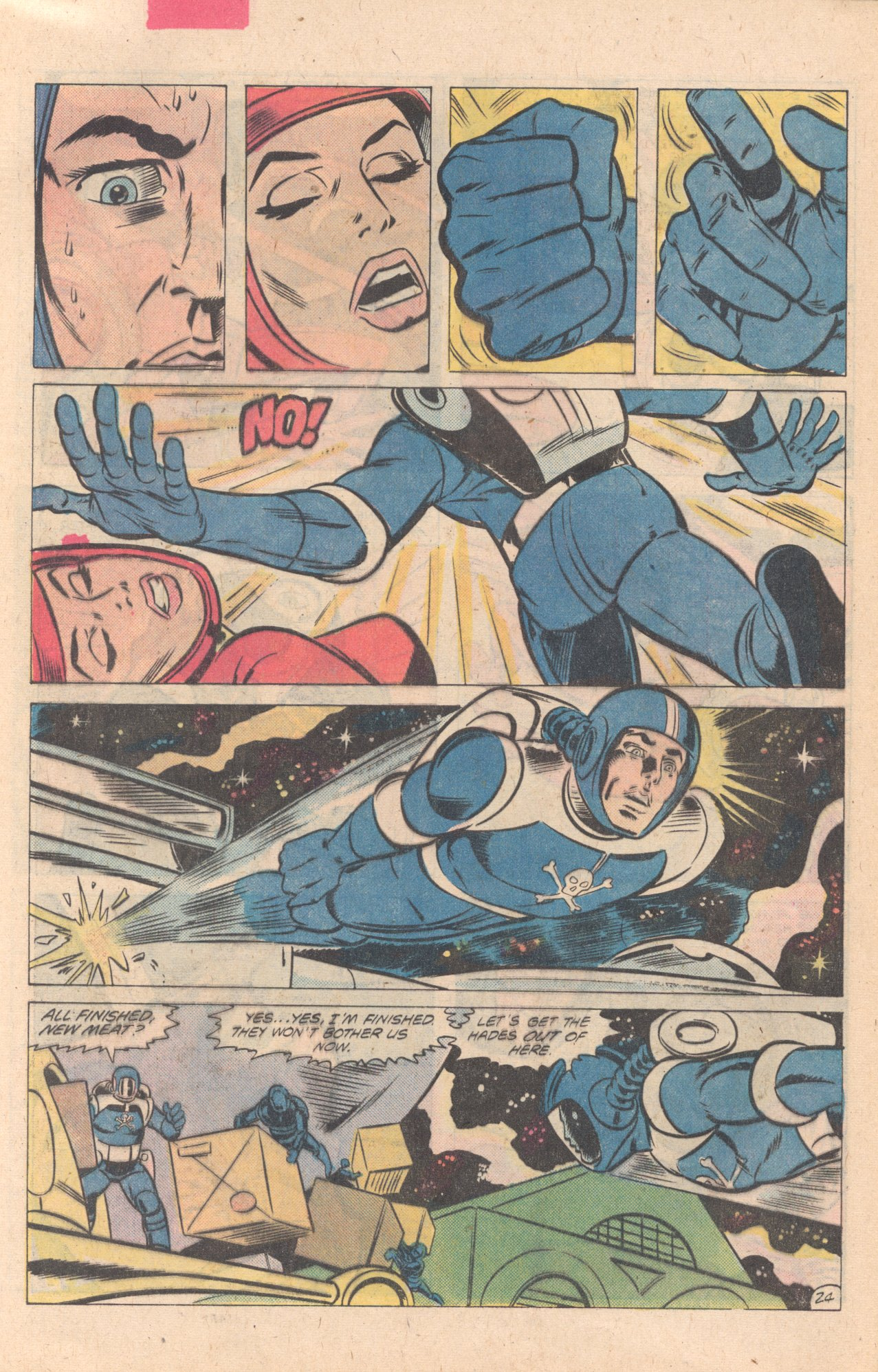 Legion of Super-Heroes (1980) 274 Page 24
