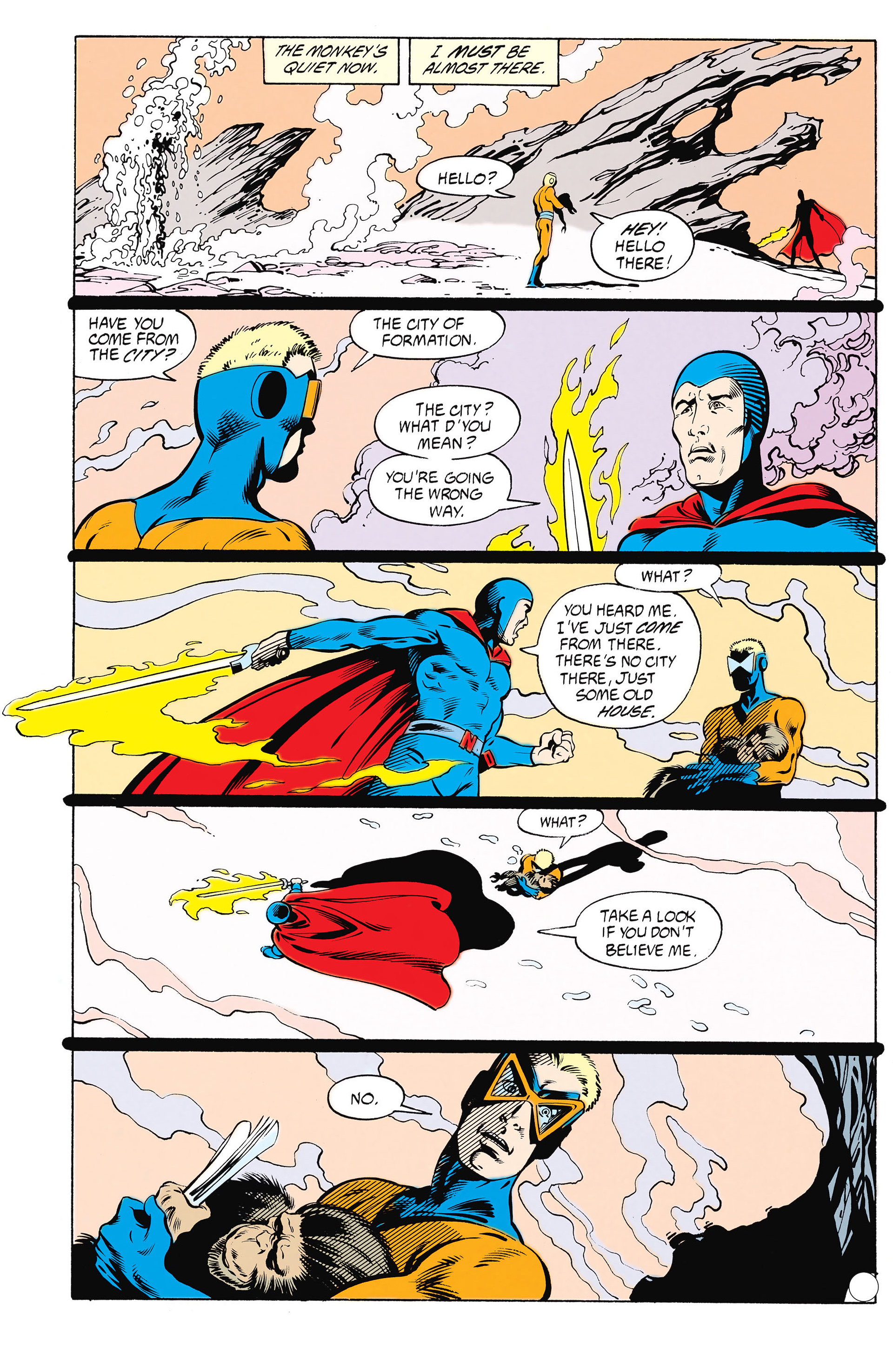 Read online Animal Man (1988) comic -  Issue #25 - 19