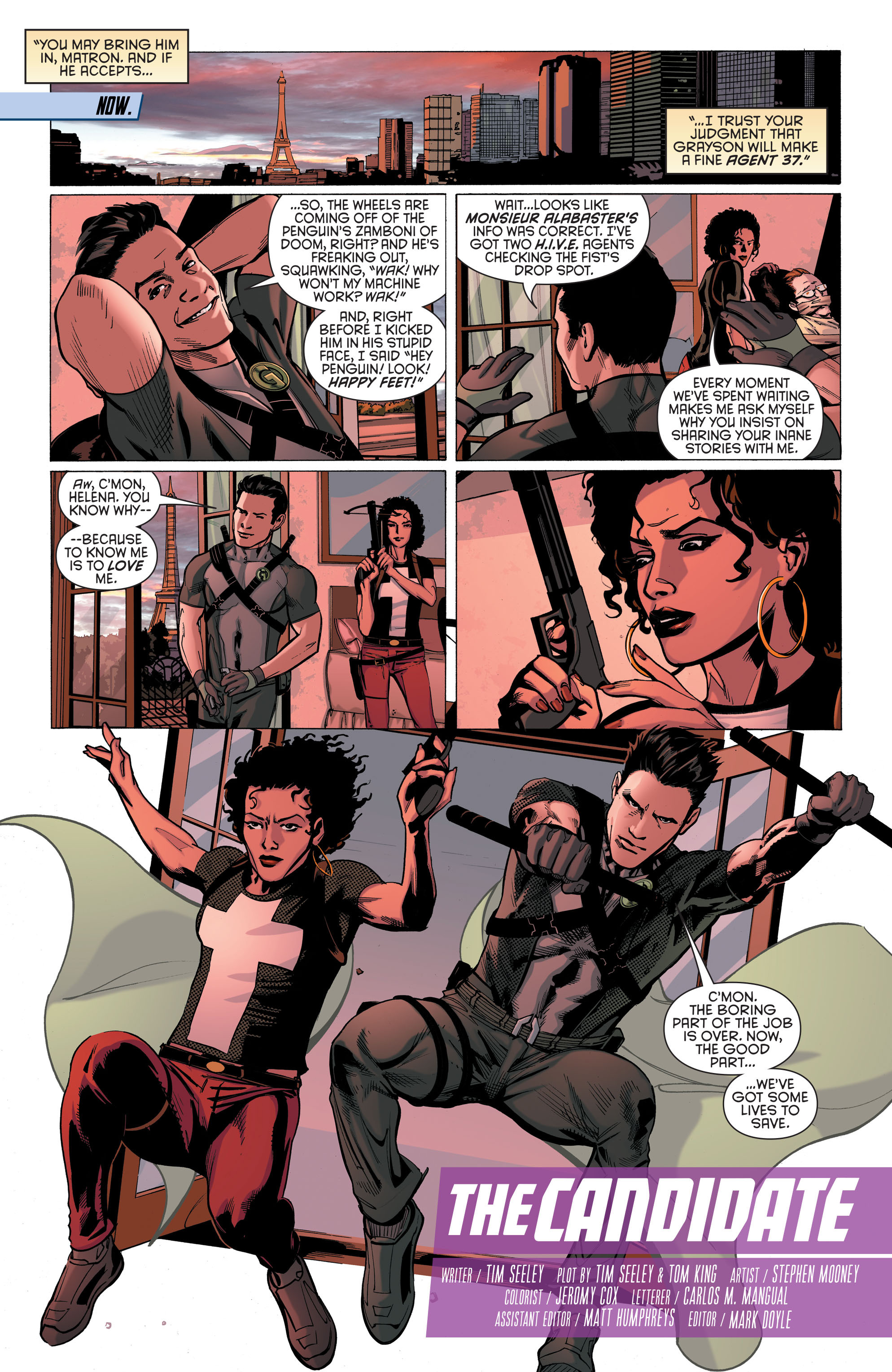 Read online Secret Origins (2014) comic -  Issue #8 - 10