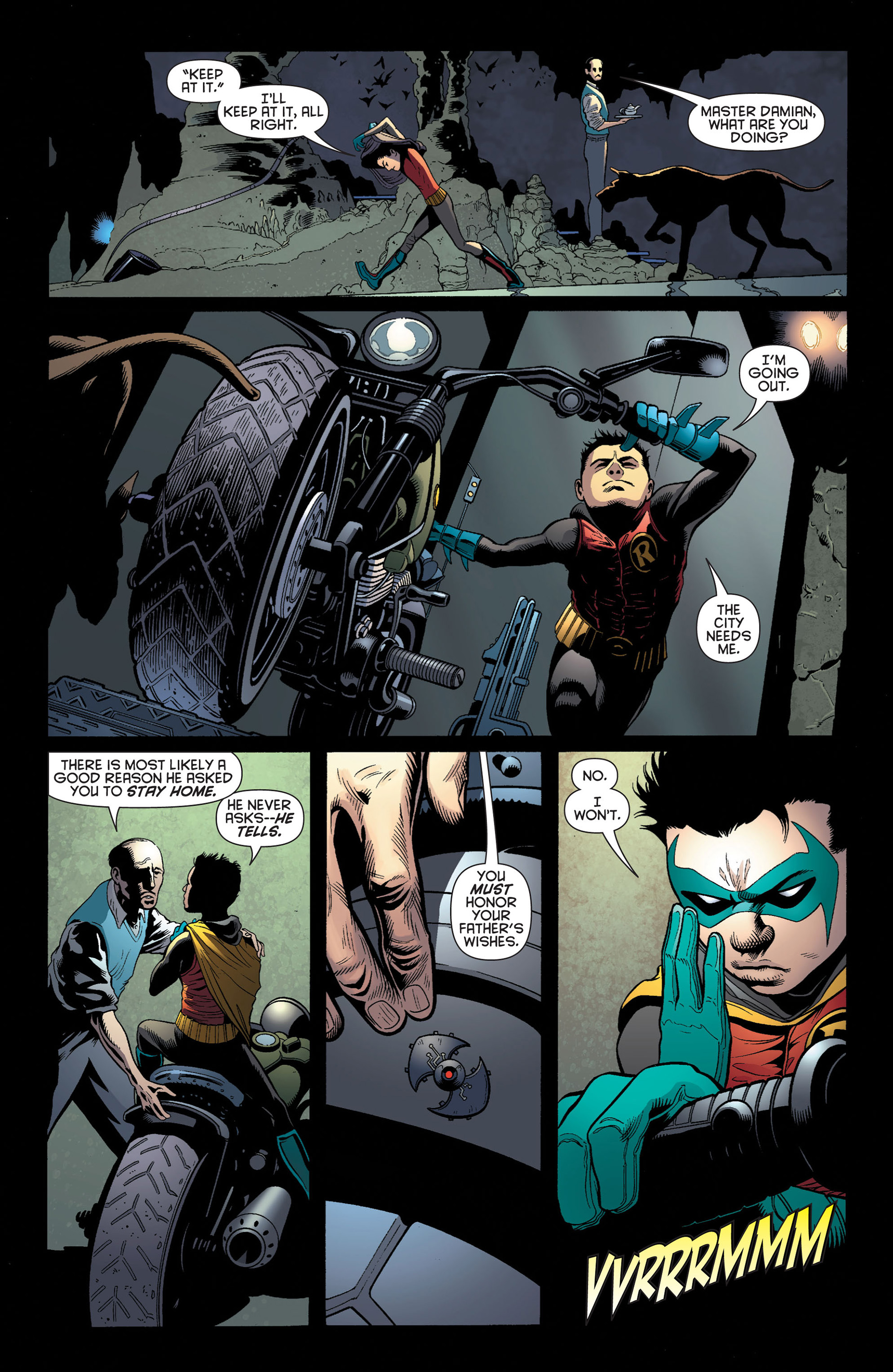 Read online Batman and Robin (2011) comic -  Issue #3 - 7