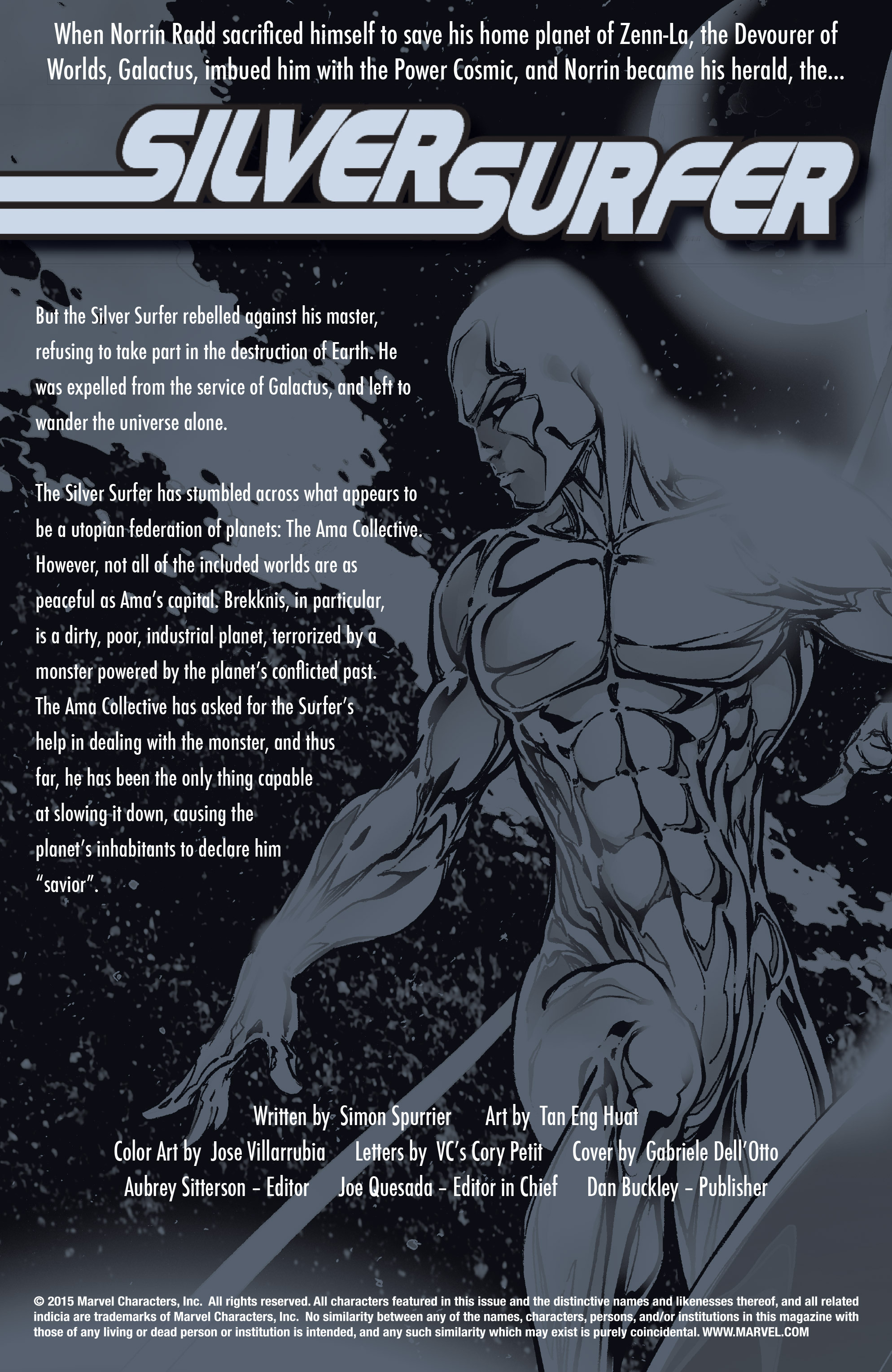Read online Silver Surfer: In Thy Name comic -  Issue #2 - 2
