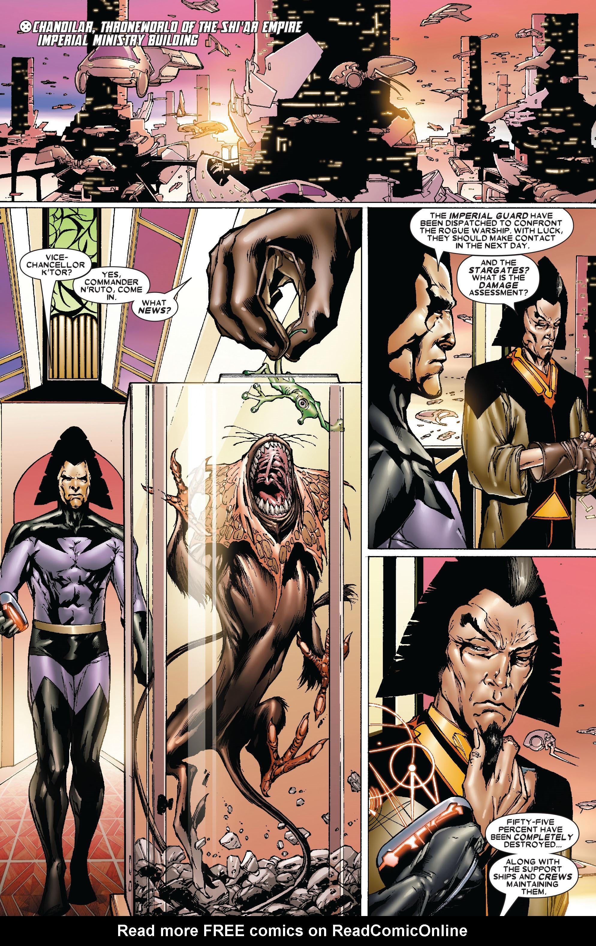 Read online Uncanny X-Men (1963) comic -  Issue #478 - 2