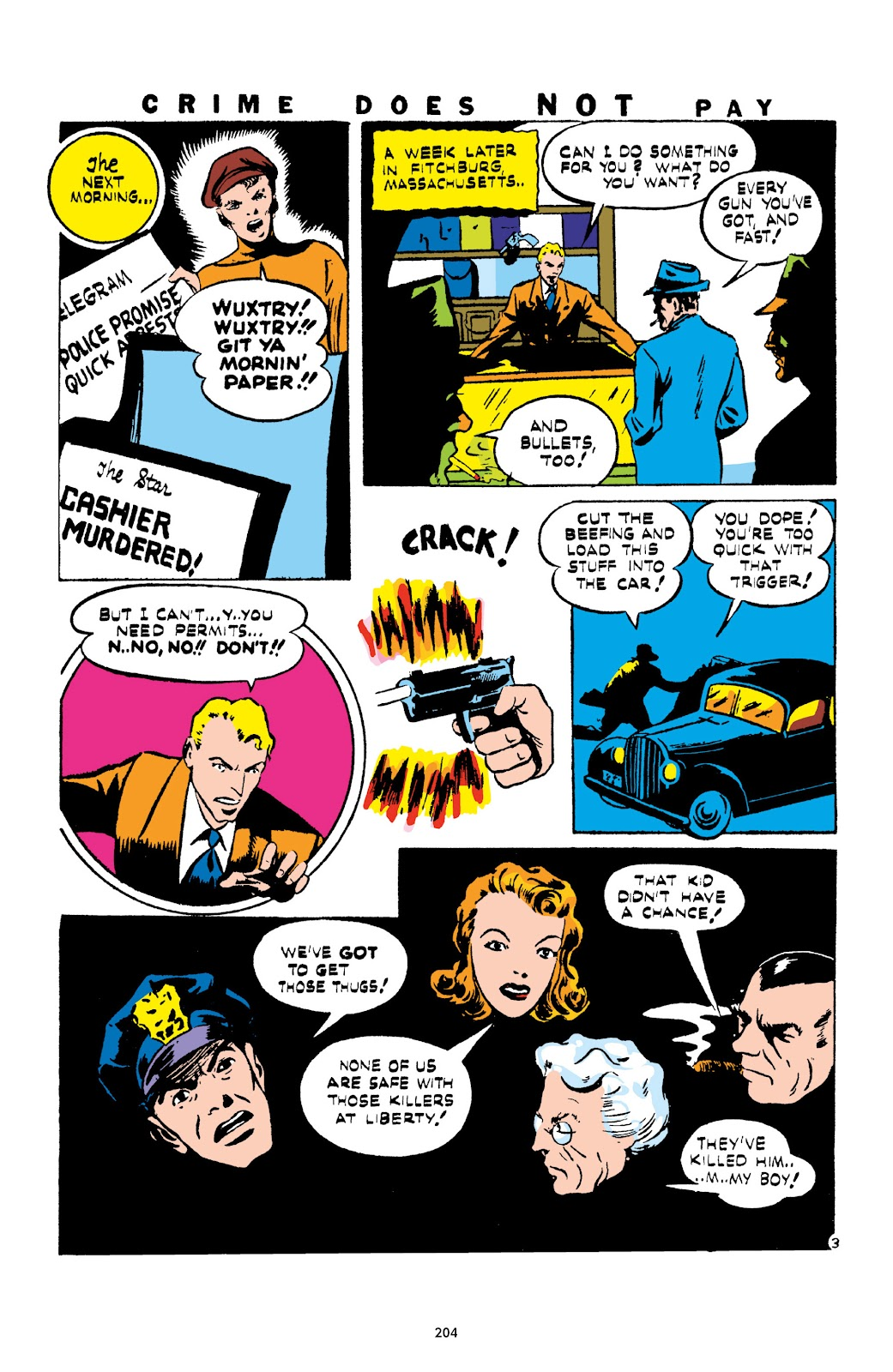 Read online Crime Does Not Pay Archives comic -  Issue # TPB 1 (Part 3) - 7