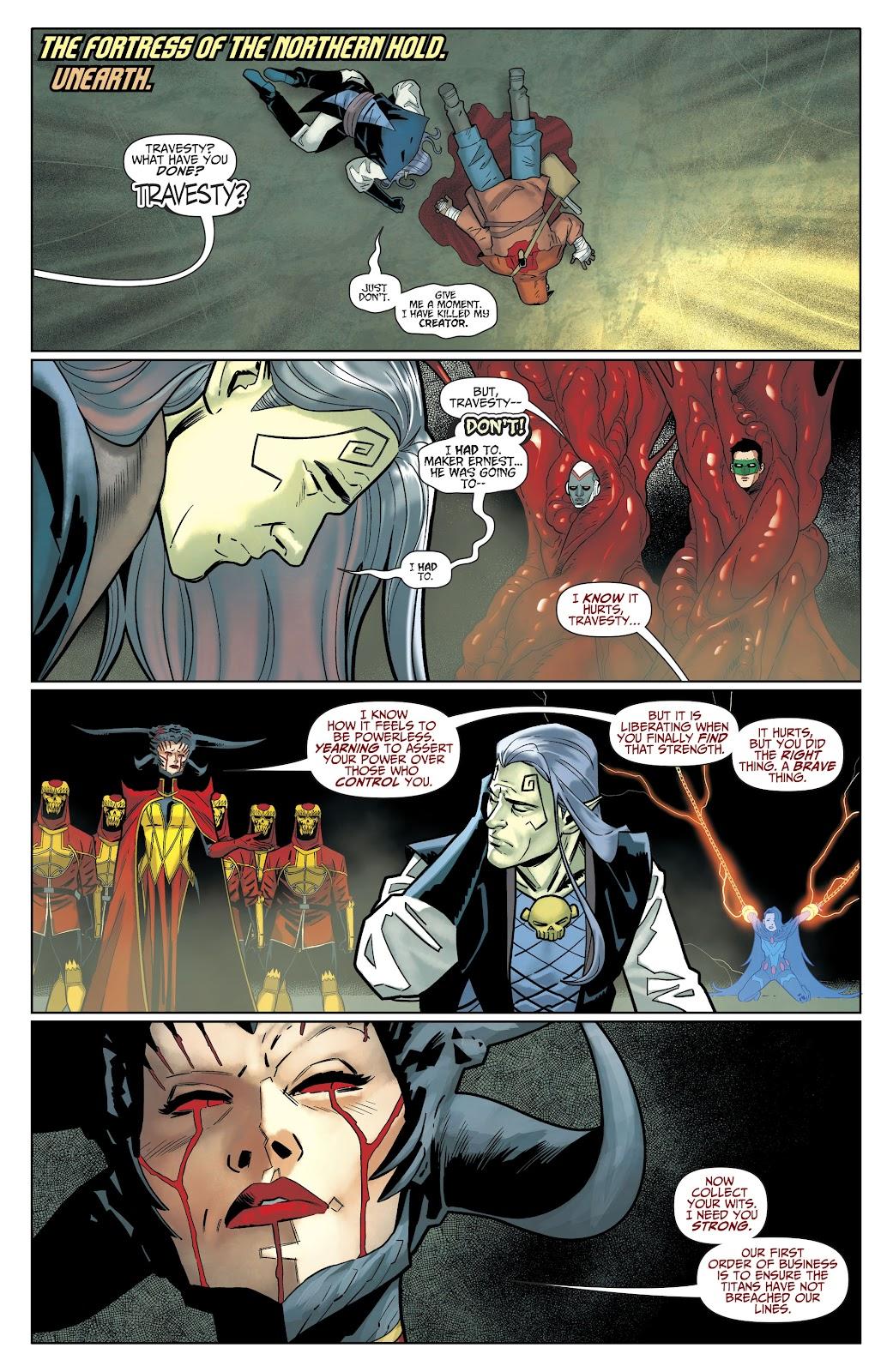 Read online Titans (2016) comic -  Issue #35 - 4