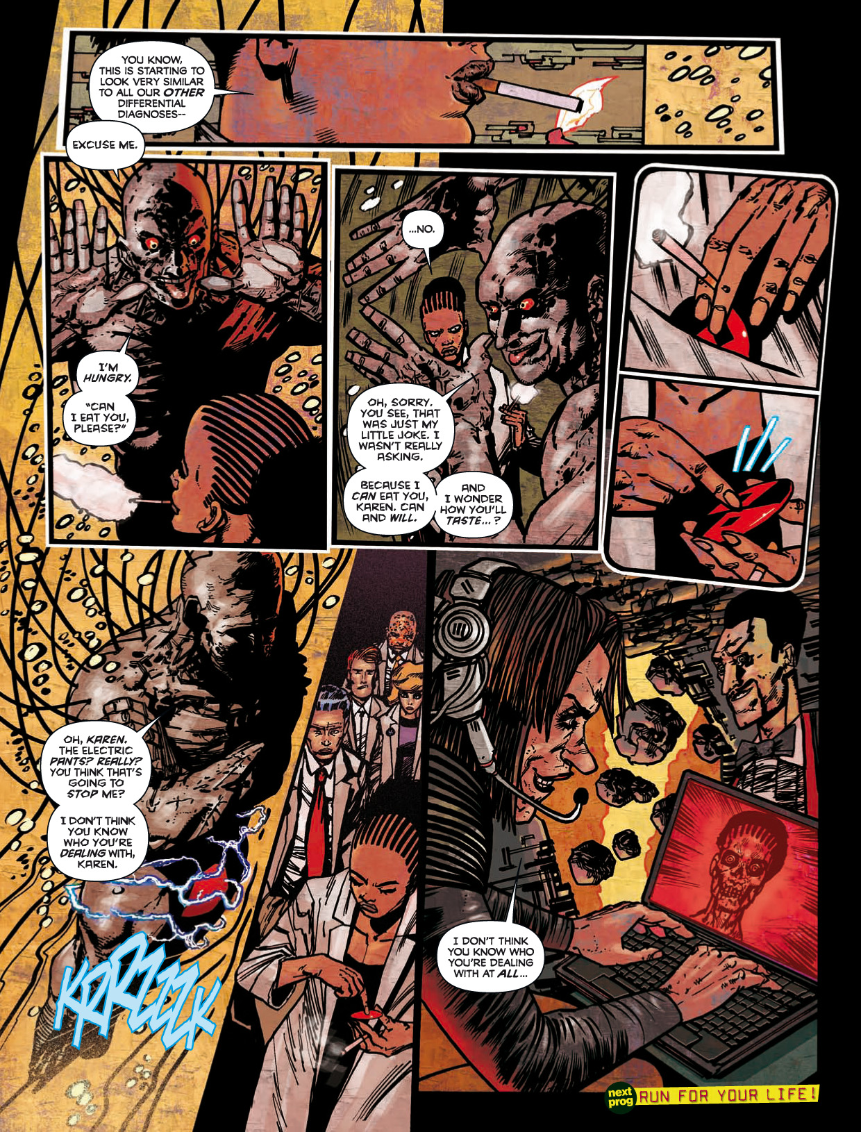 Read online 2000 AD comic -  Issue #1746 - 150