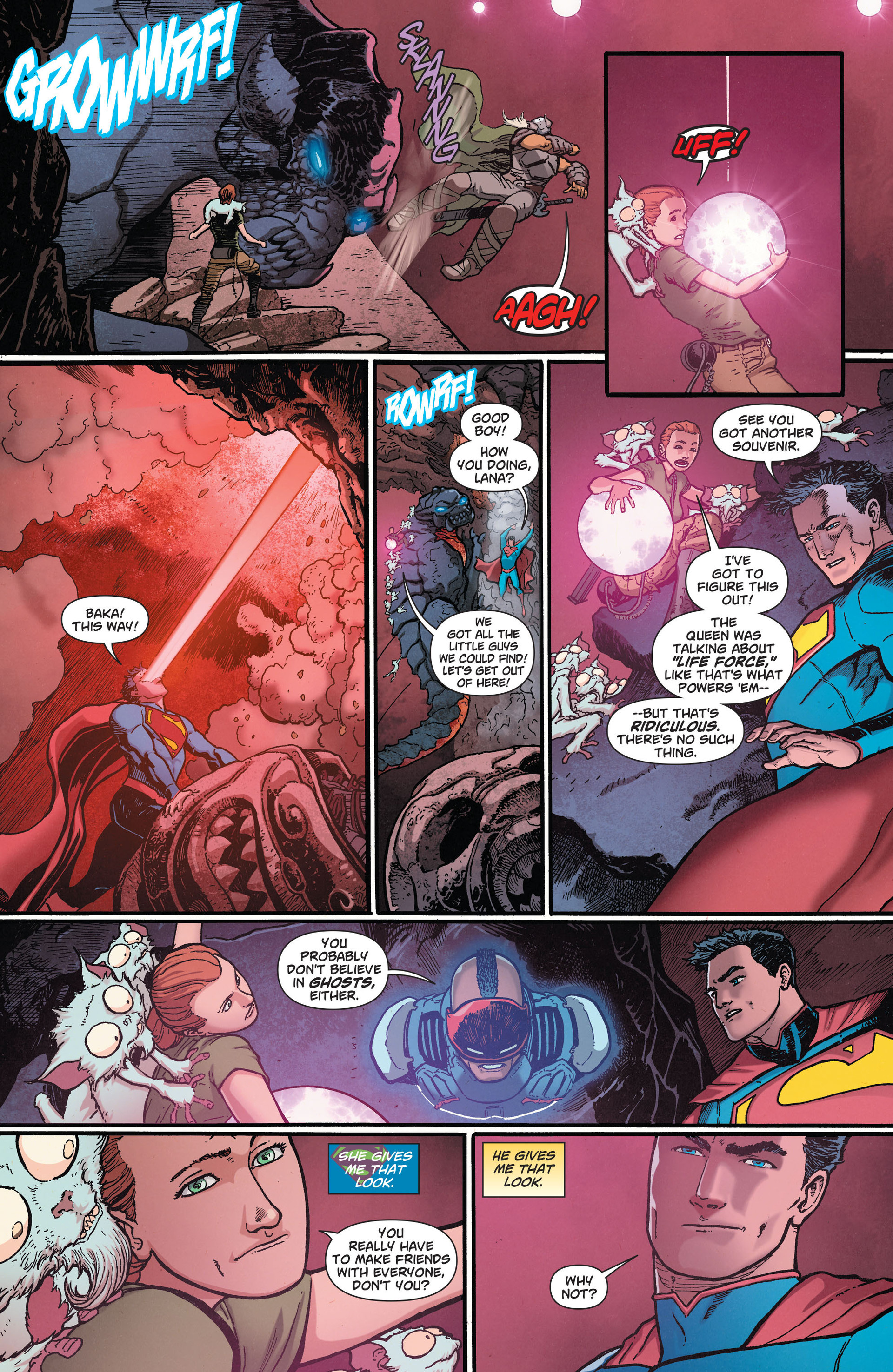 Read online Action Comics (2011) comic -  Issue #28 - 20