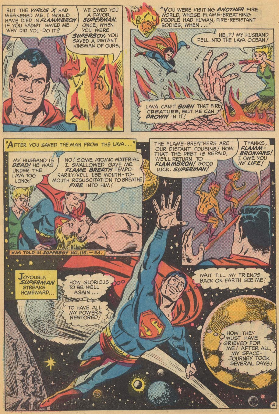 Read online Action Comics (1938) comic -  Issue #366 - 6