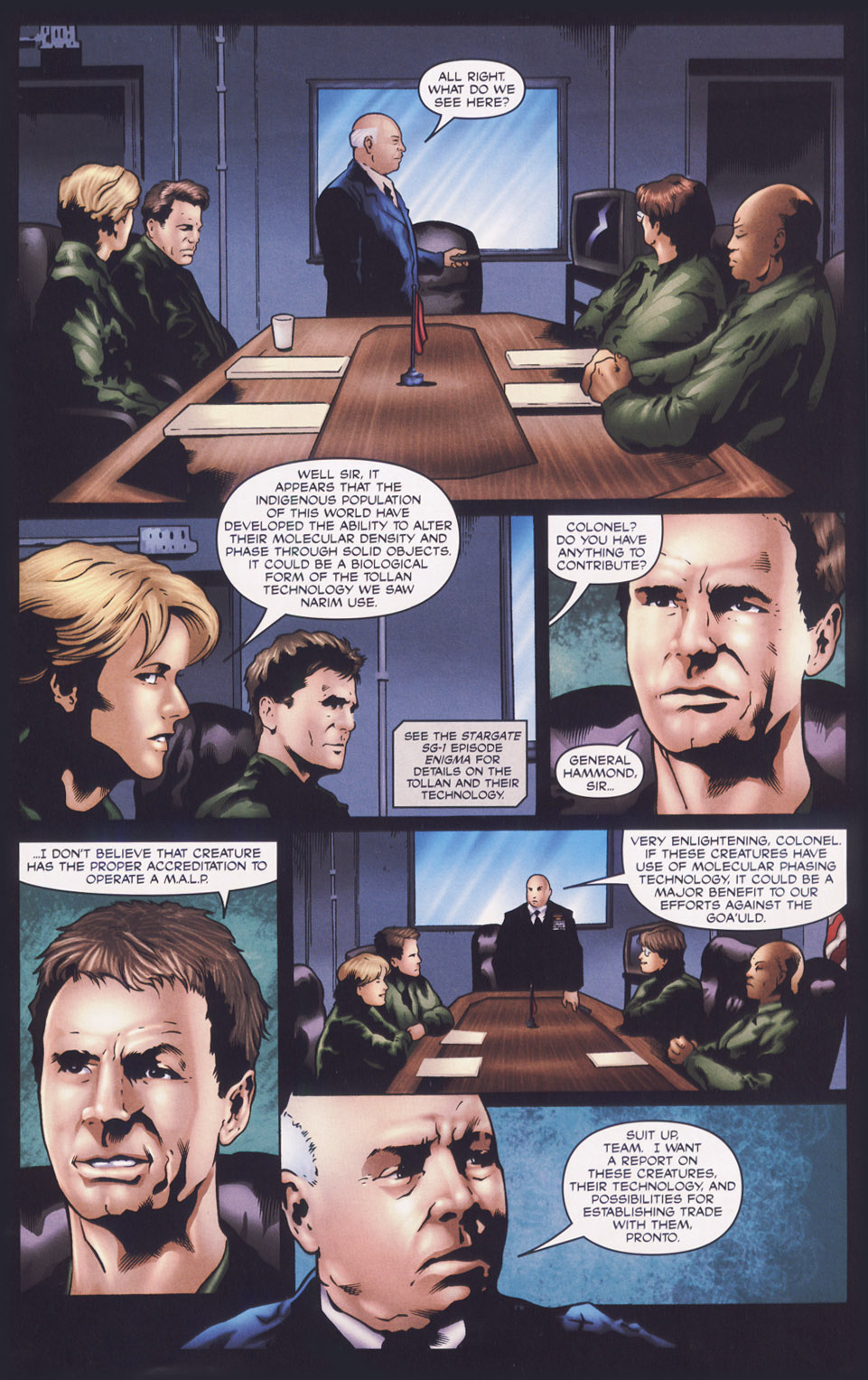 Read online Stargate SG-1: Fall of Rome comic -  Issue #1 - 12