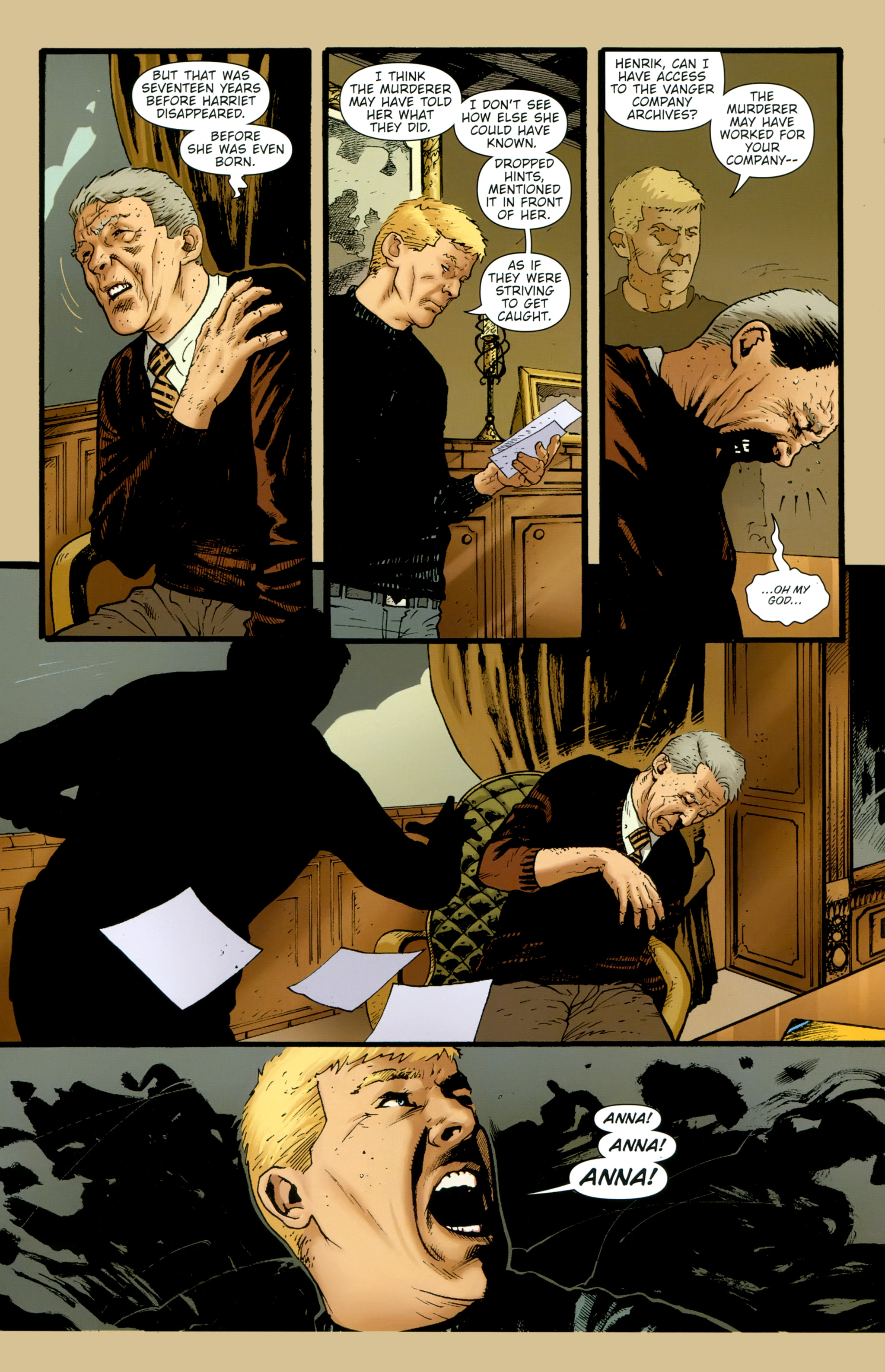 Read online The Girl With the Dragon Tattoo comic -  Issue # TPB 2 - 40