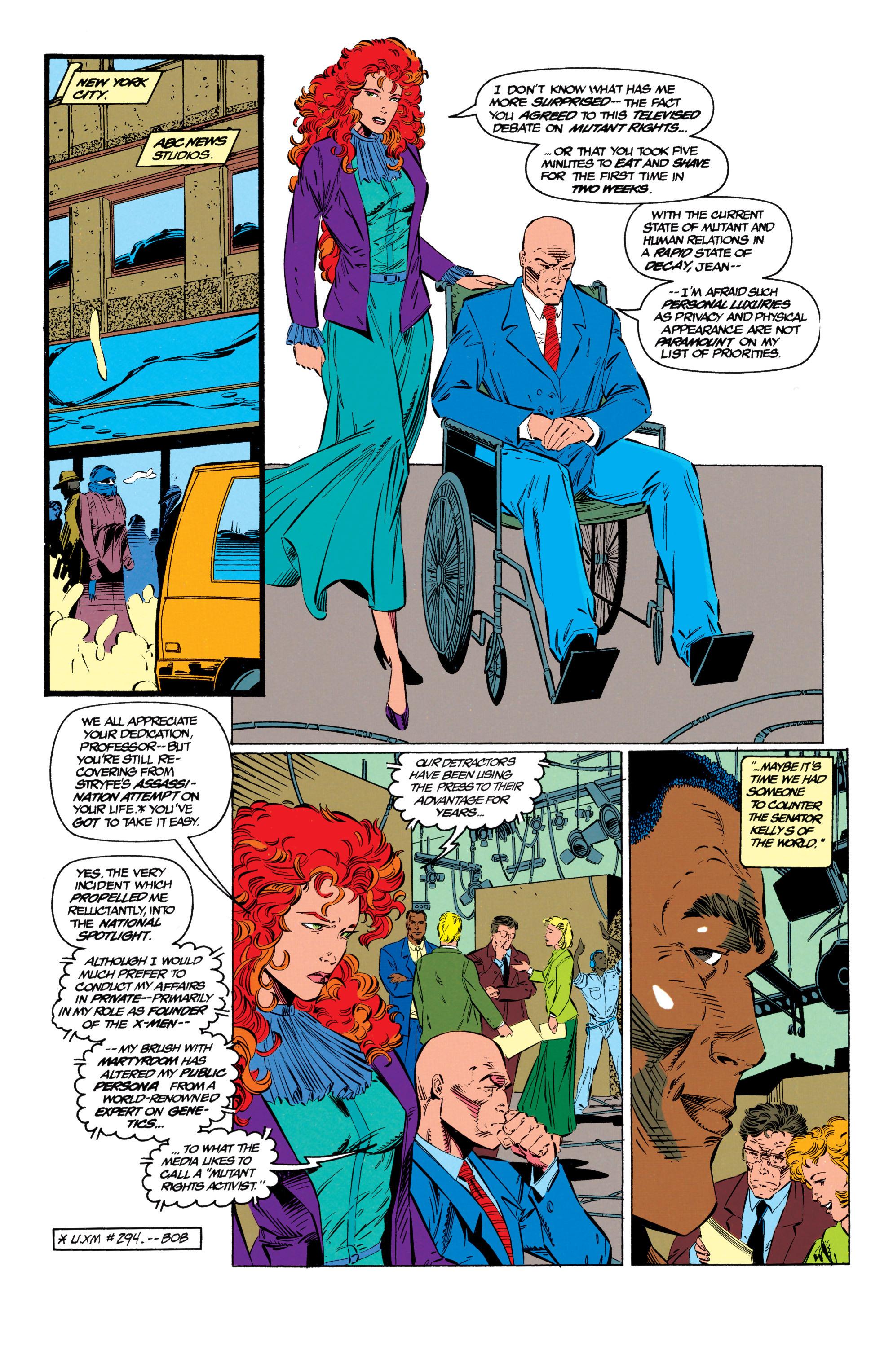 Read online Uncanny X-Men (1963) comic -  Issue #299 - 5