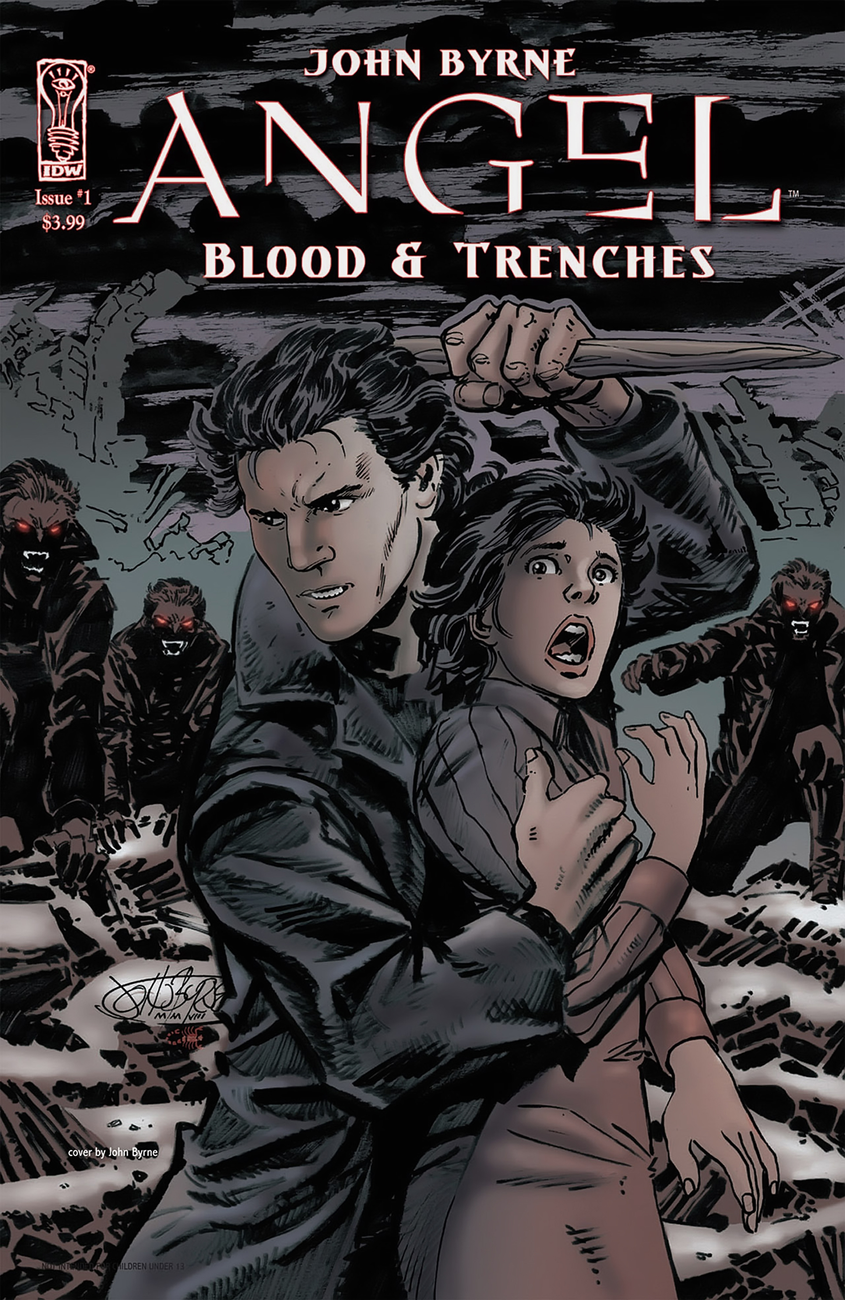 Read online Angel: Blood & Trenches comic -  Issue #1 - 1