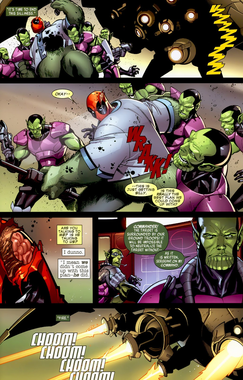 Read online Deadpool (2008) comic -  Issue #1 - 10