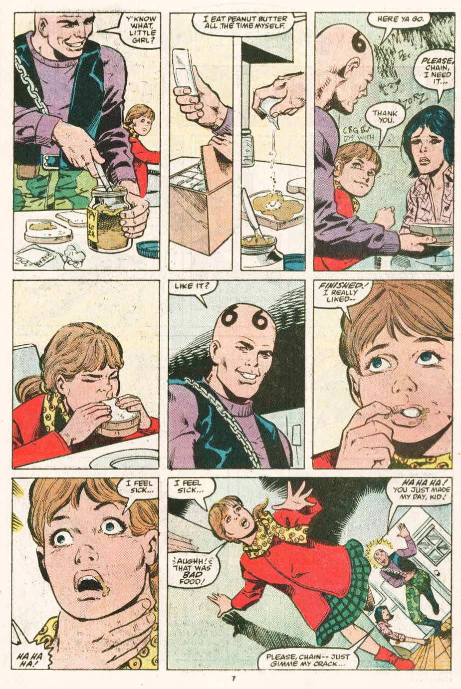 Read online Justice (1986) comic -  Issue #6 - 8