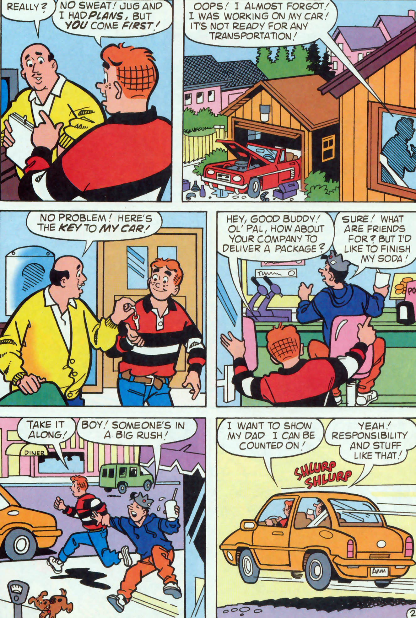 Read online Archie (1960) comic -  Issue #455 - 8