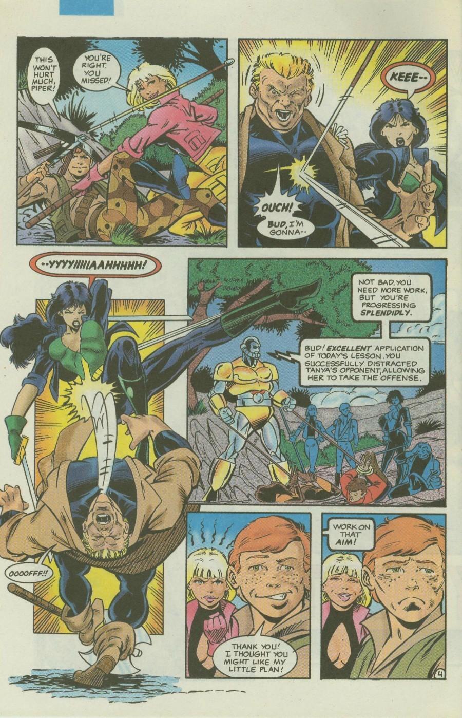 Read online Ex-Mutants comic -  Issue #4 - 5