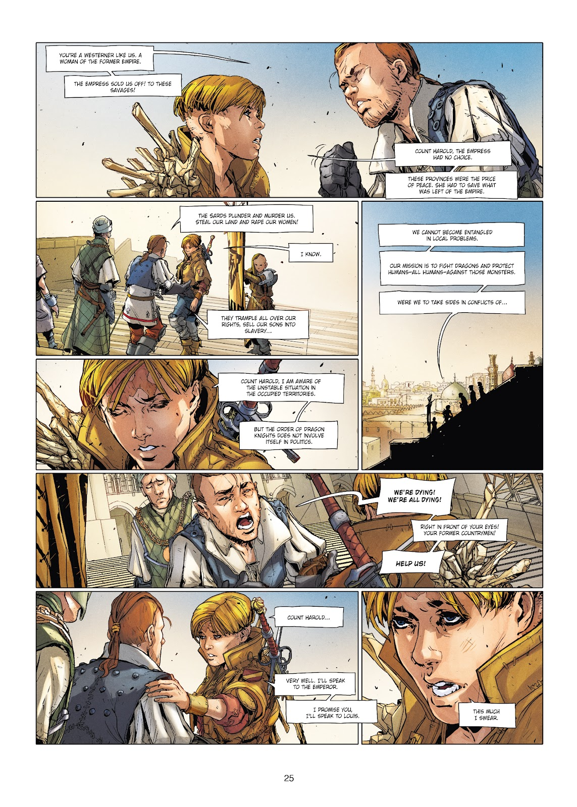 Read online Chronicles of the Dragon Knights comic -  Issue #20 - 25