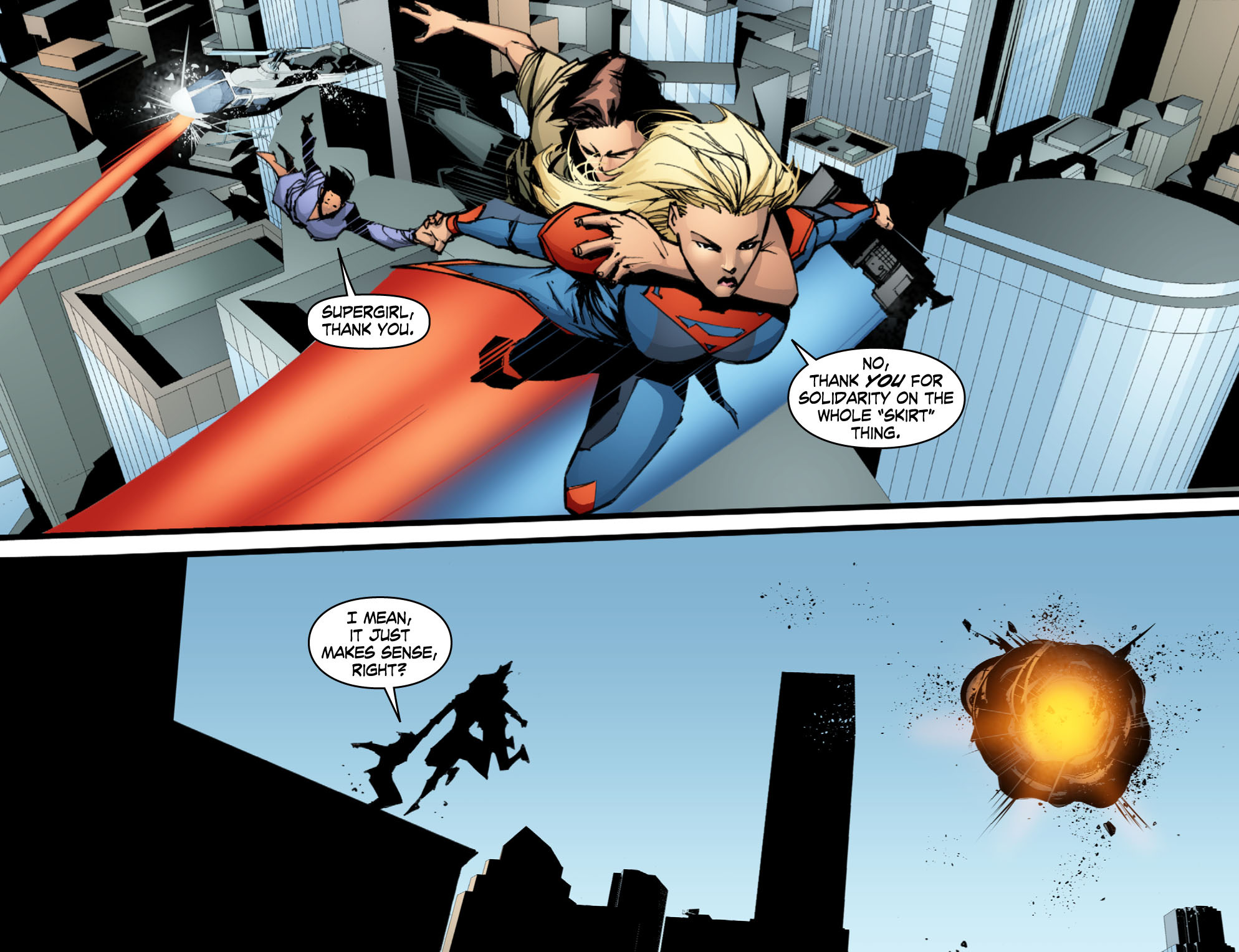 Read online Smallville: Chaos [II] comic -  Issue #10 - 8
